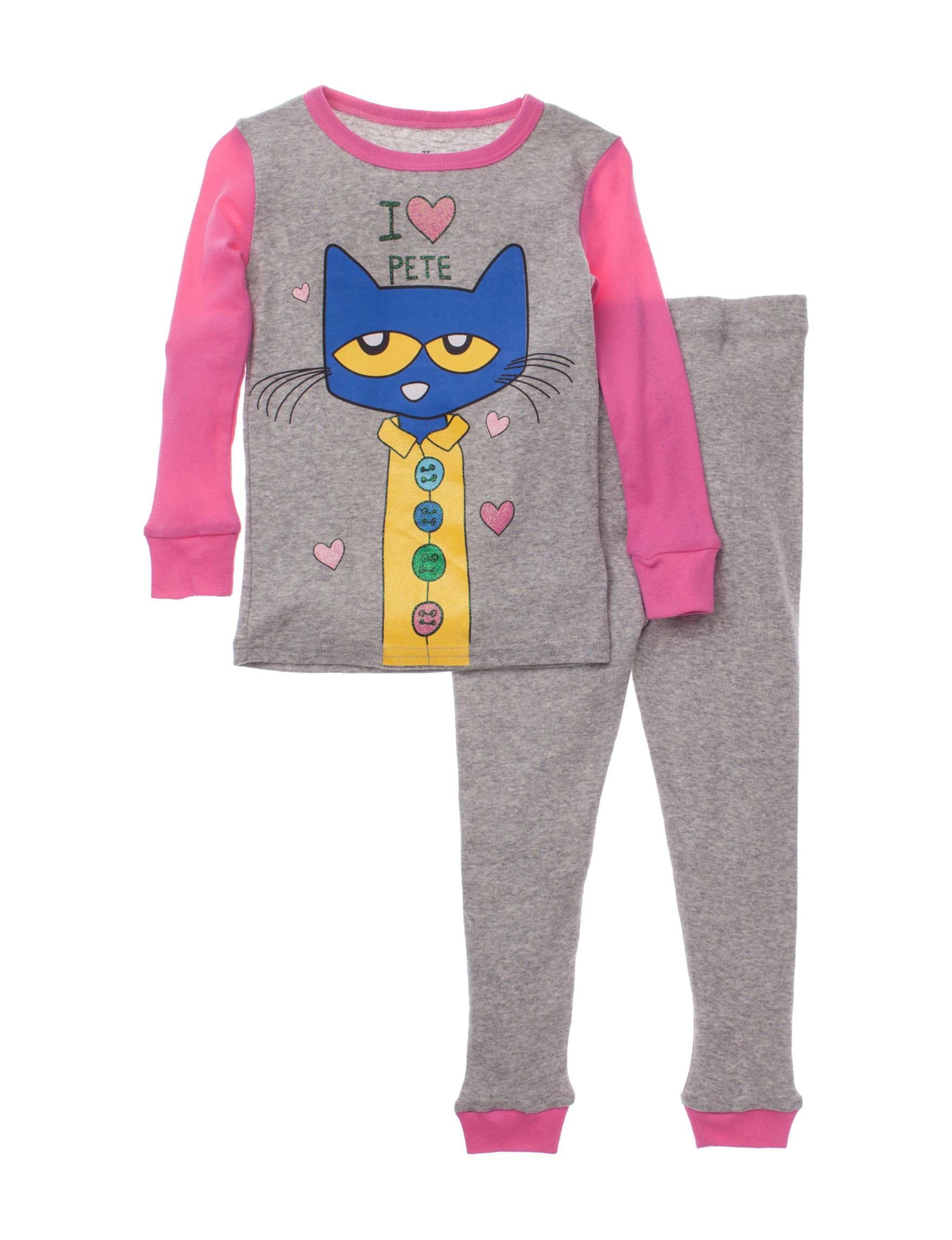 Cat Pajama Set Girls