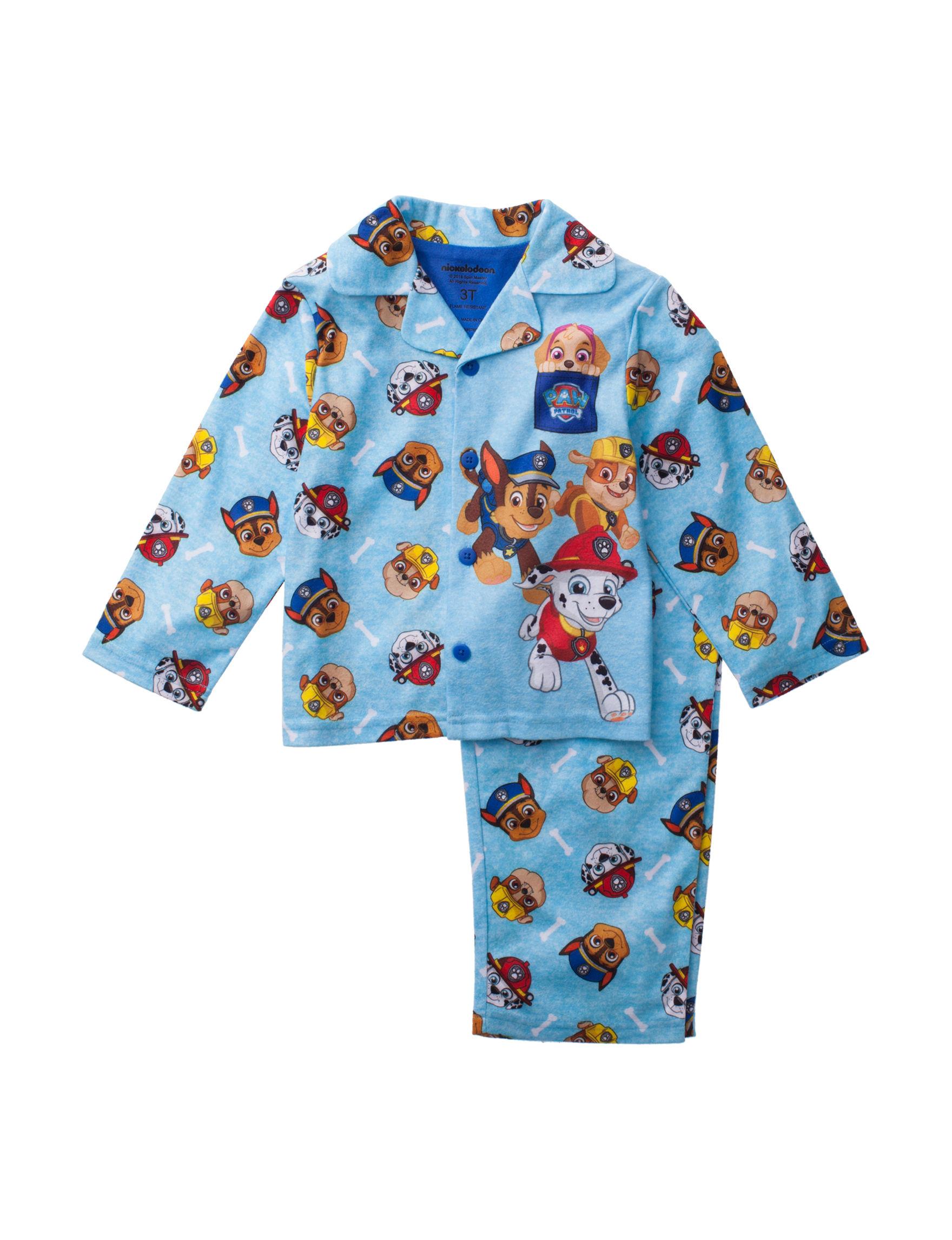 Licensed Medium Blue Pajama Sets