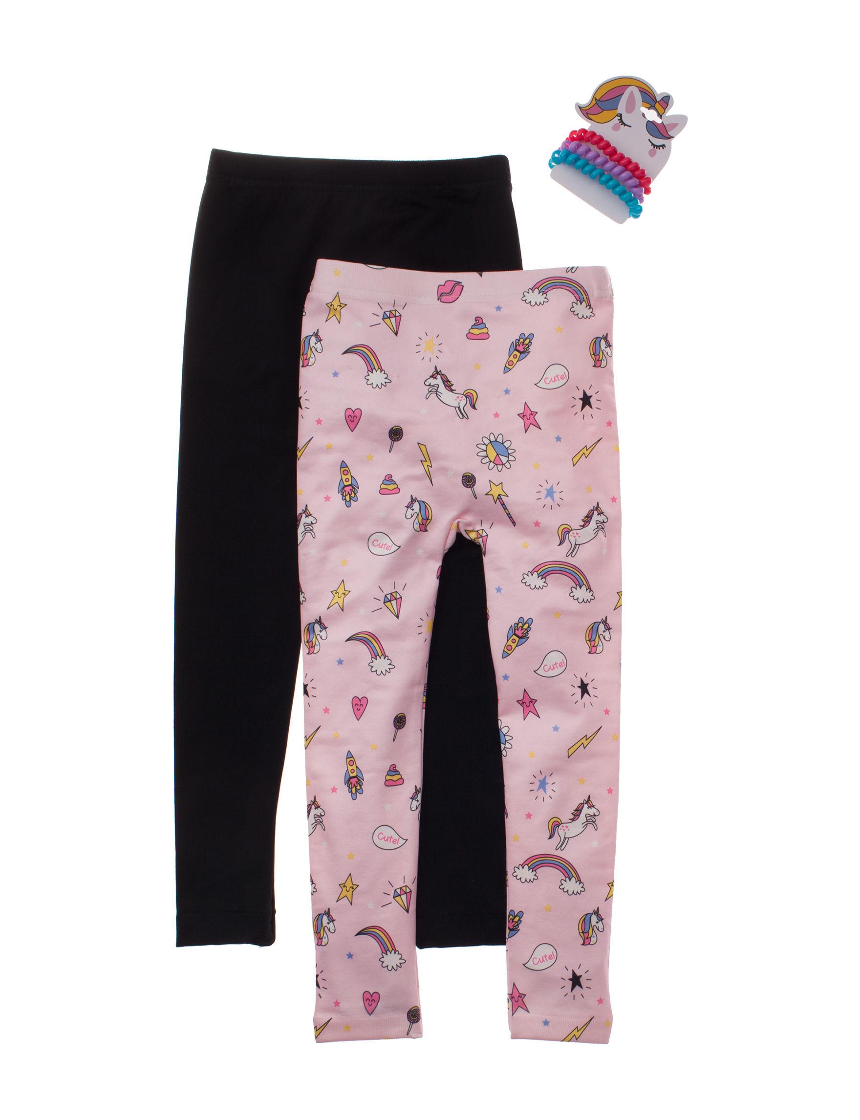 Charlotte Pink Multi Leggings