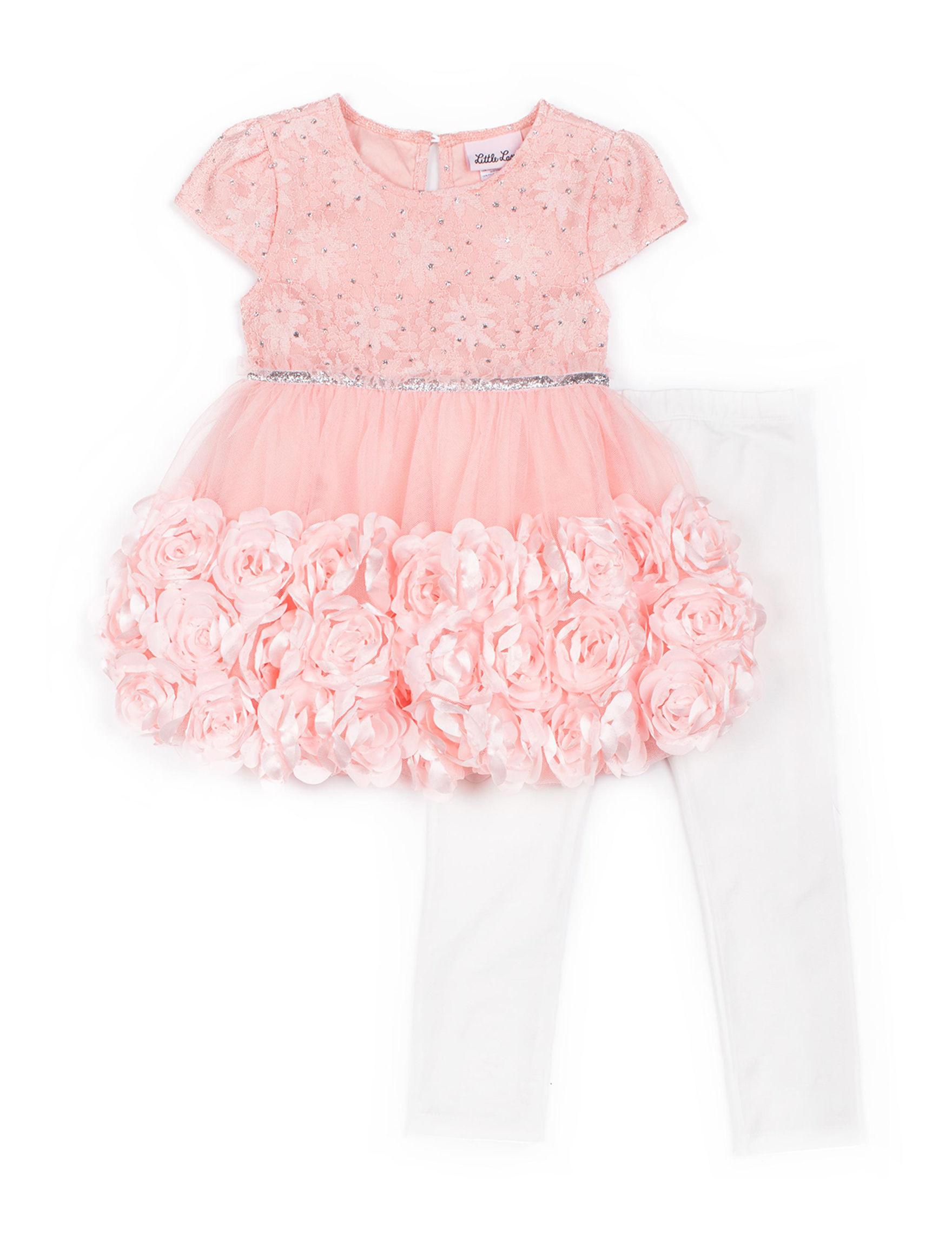 5234499519620 Little Lass 2-pc. Elegant Roses Dress & Leggings Set - Toddlers & Girls  4-6x. WEB ID #:542672. (2). product