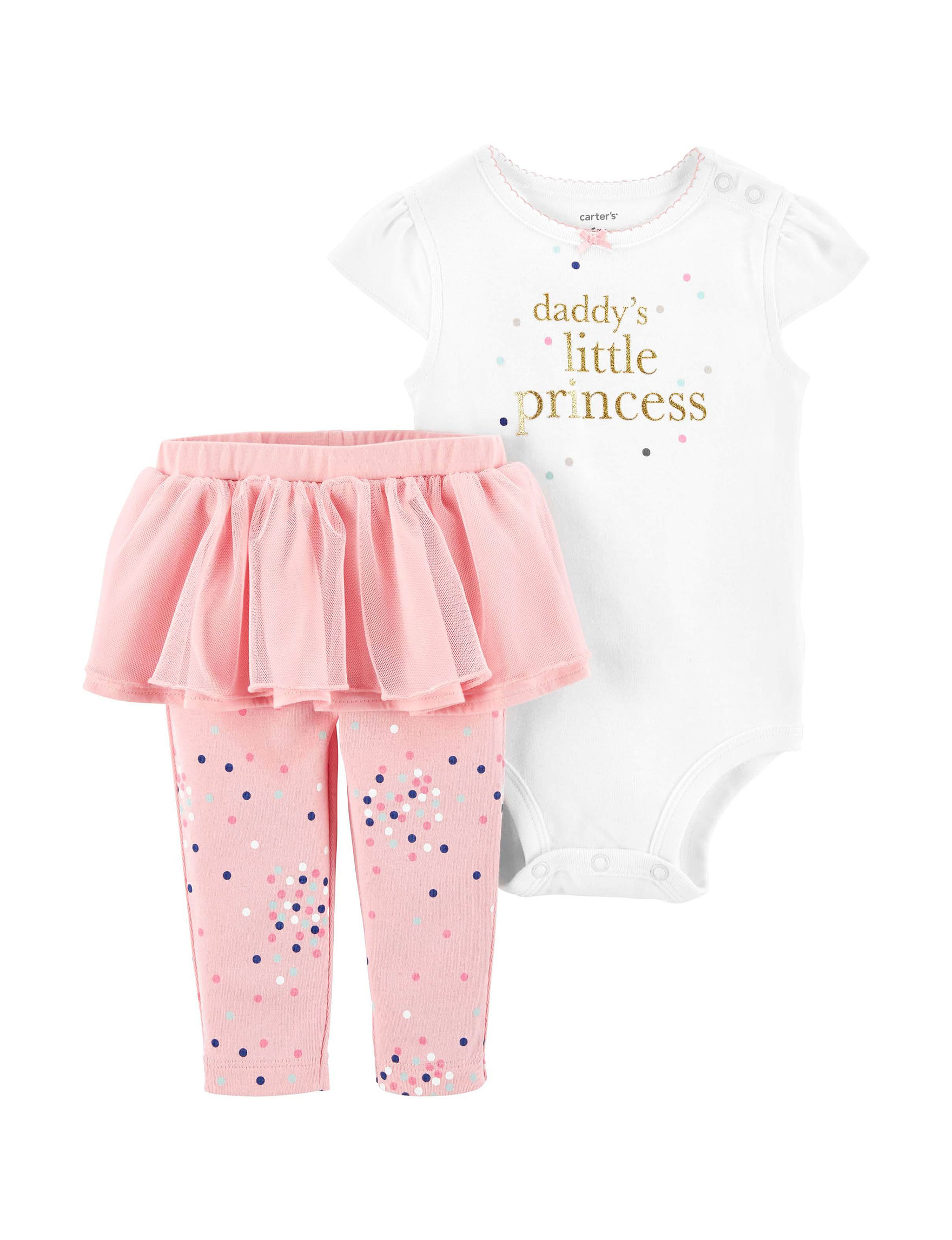 Carter's Ivory / Pink