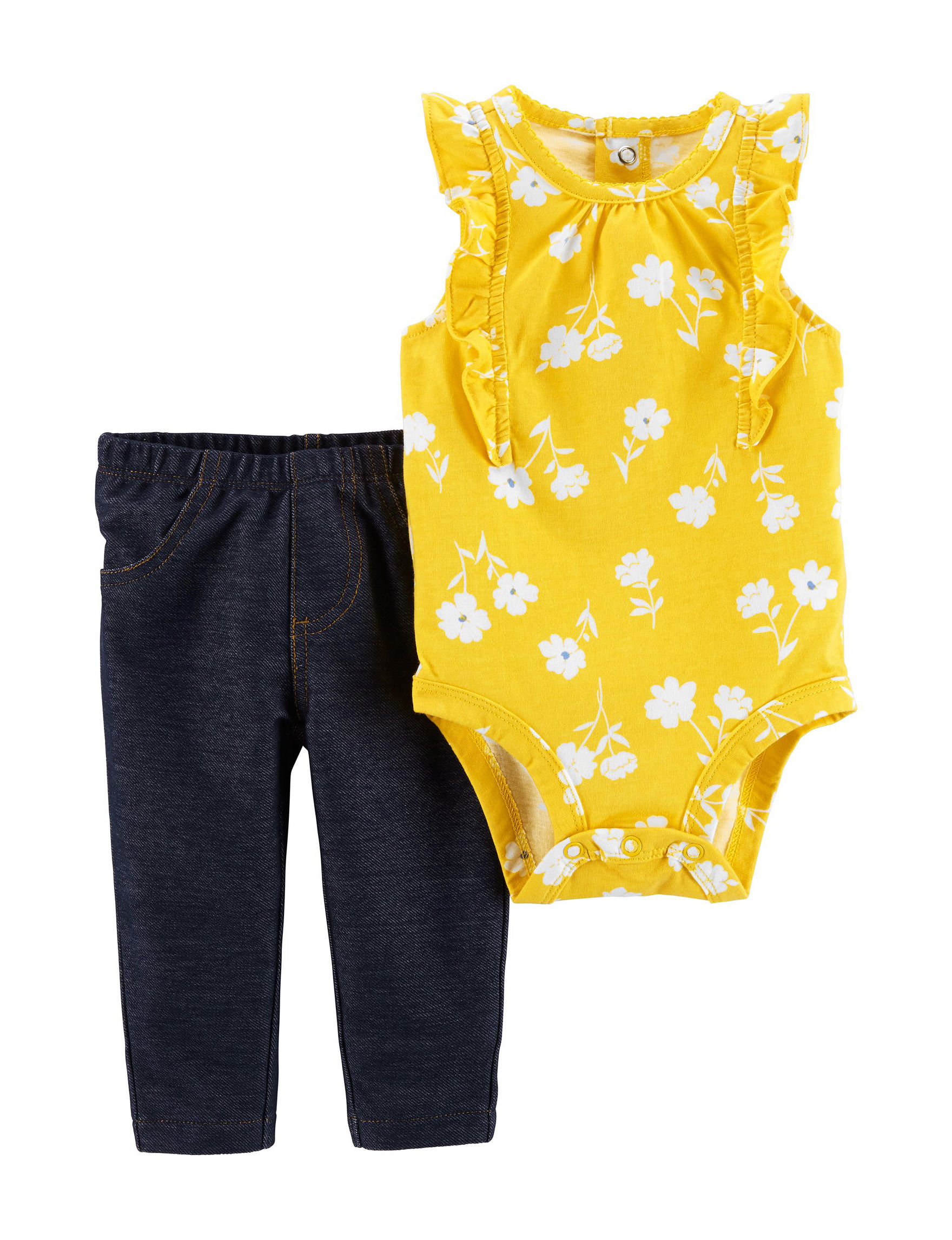 Carter's Yellow / Blue