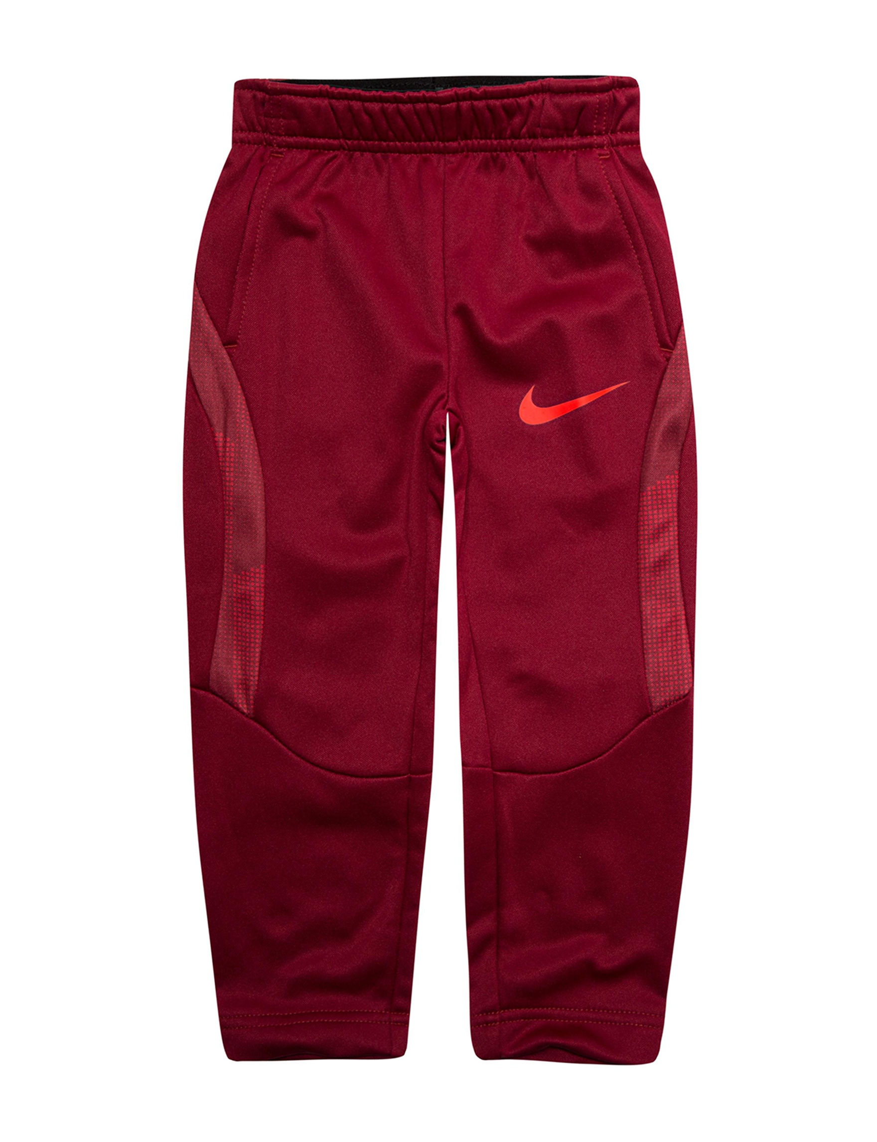 Nike Dark Red Soft Pants
