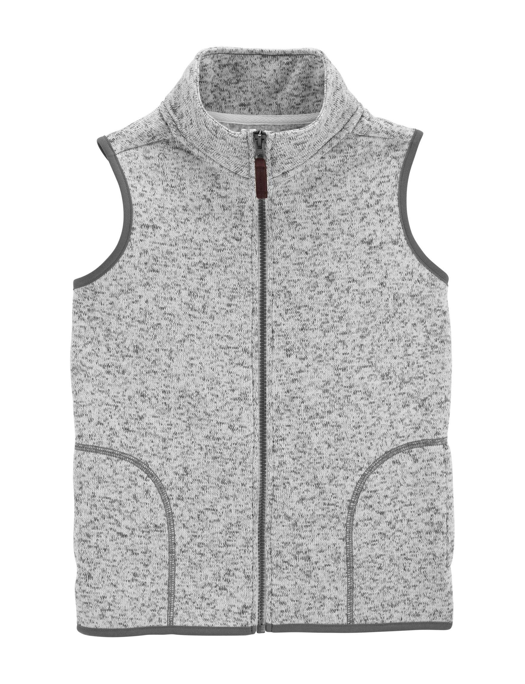 Carter's Grey Vests