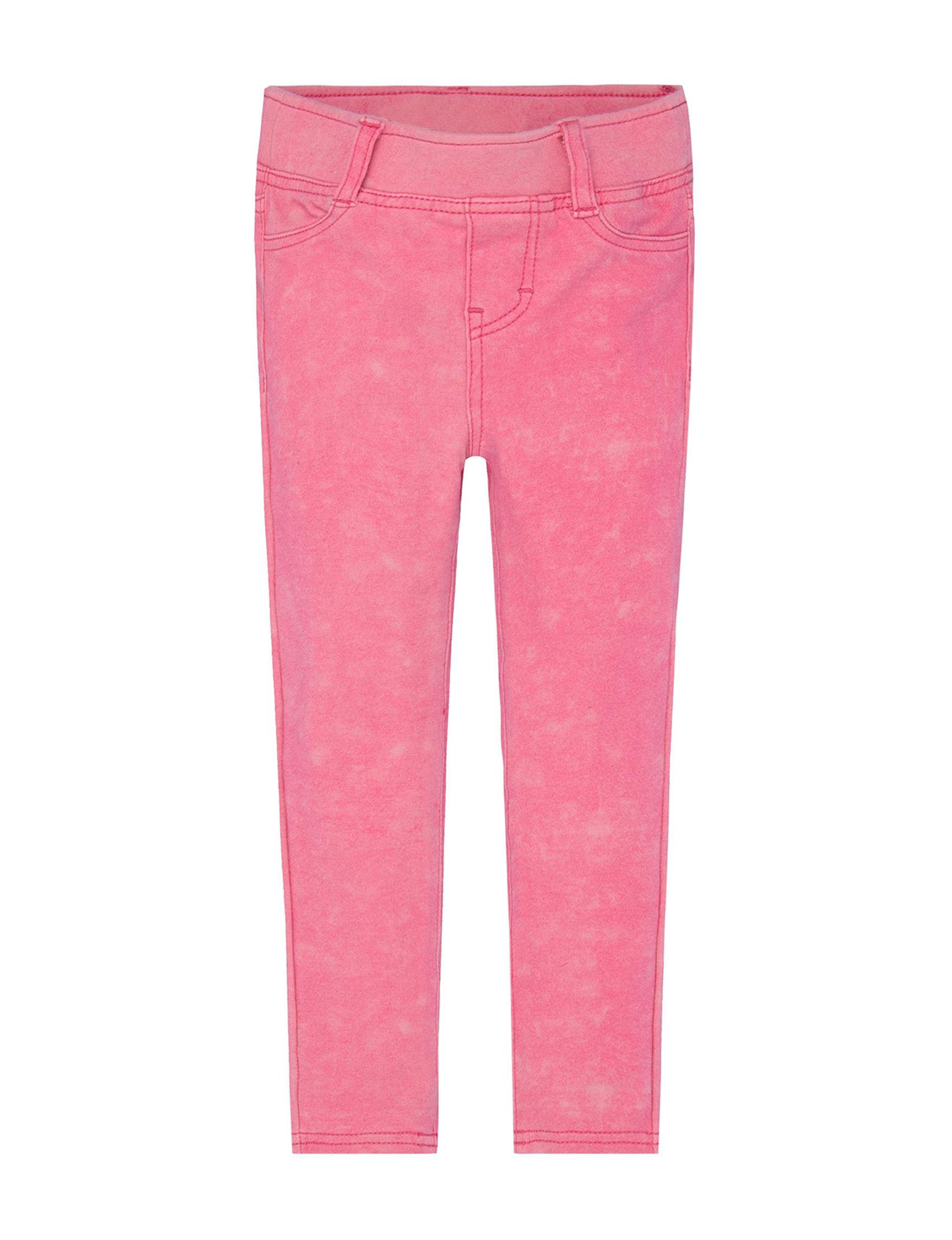 Levi's Pink Jeggings Stretch
