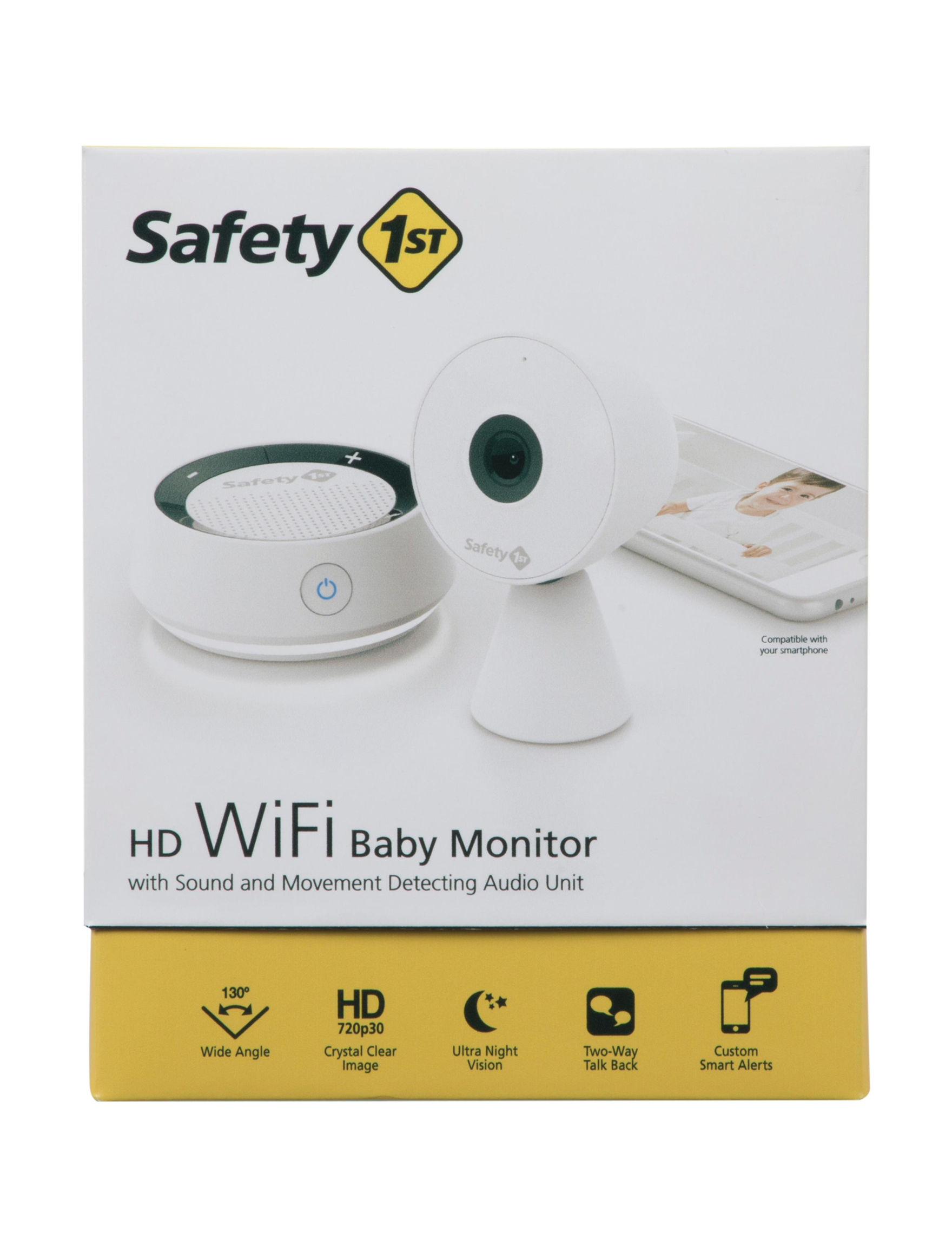 Safety 1st Hd Wifi Baby Monitor With Sound Amp Movement