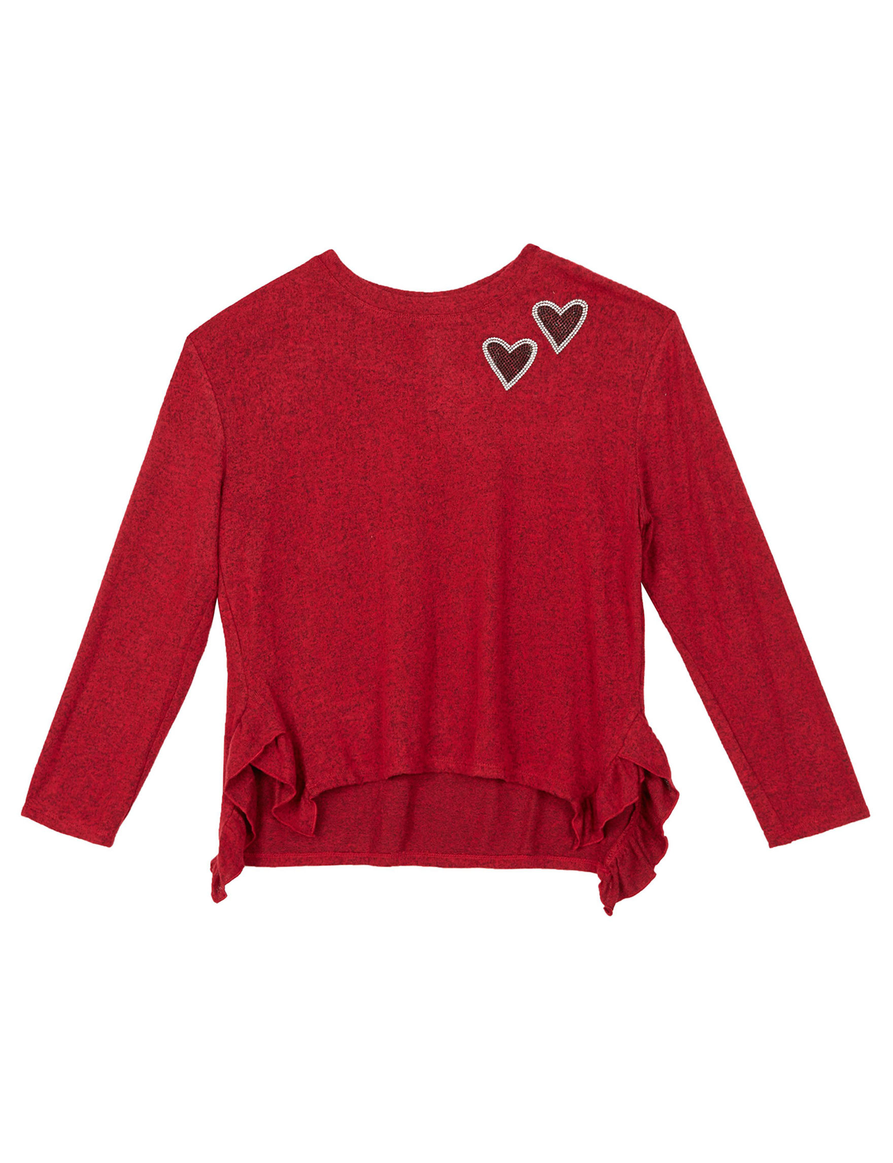 A. Byer Red Pull-overs