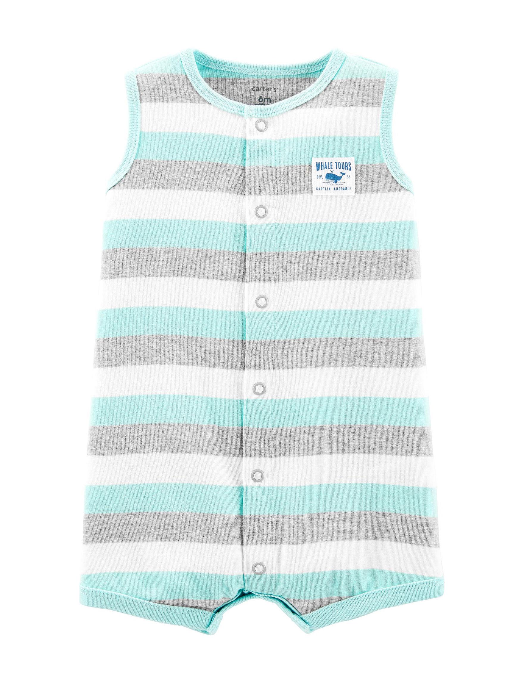 Carter's Grey Stripe