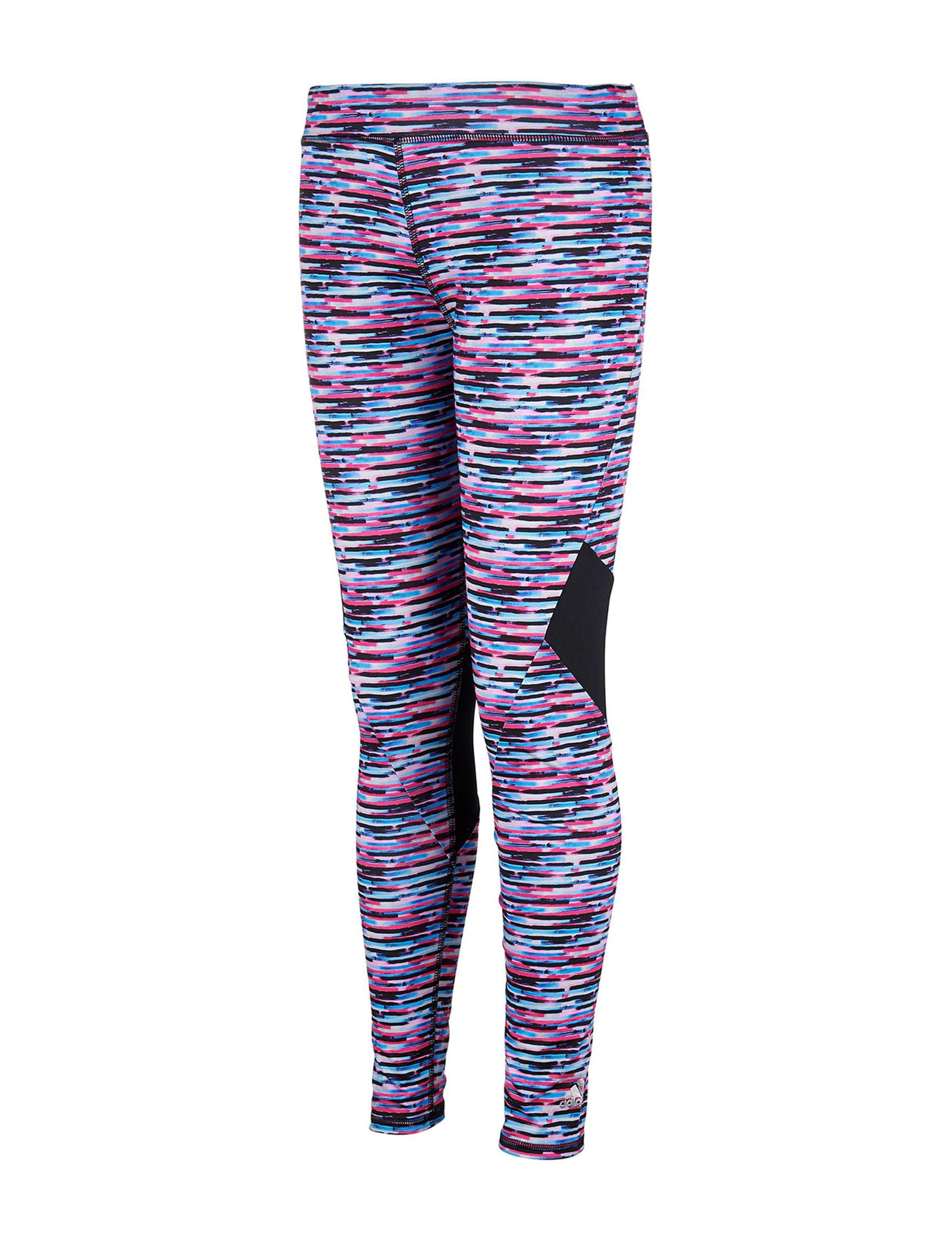 Adidas Pink Multi Leggings