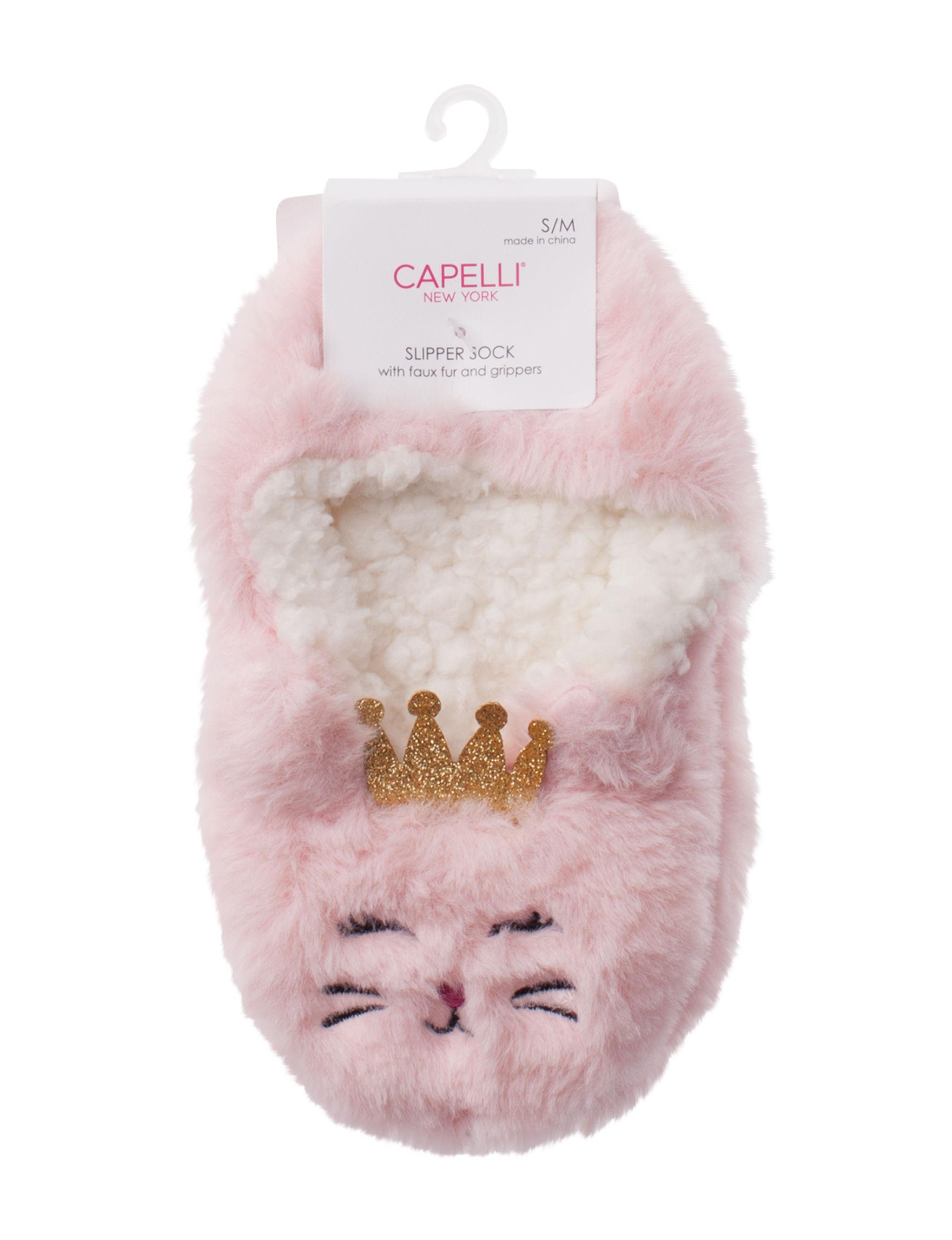 Capelli Pink Socks