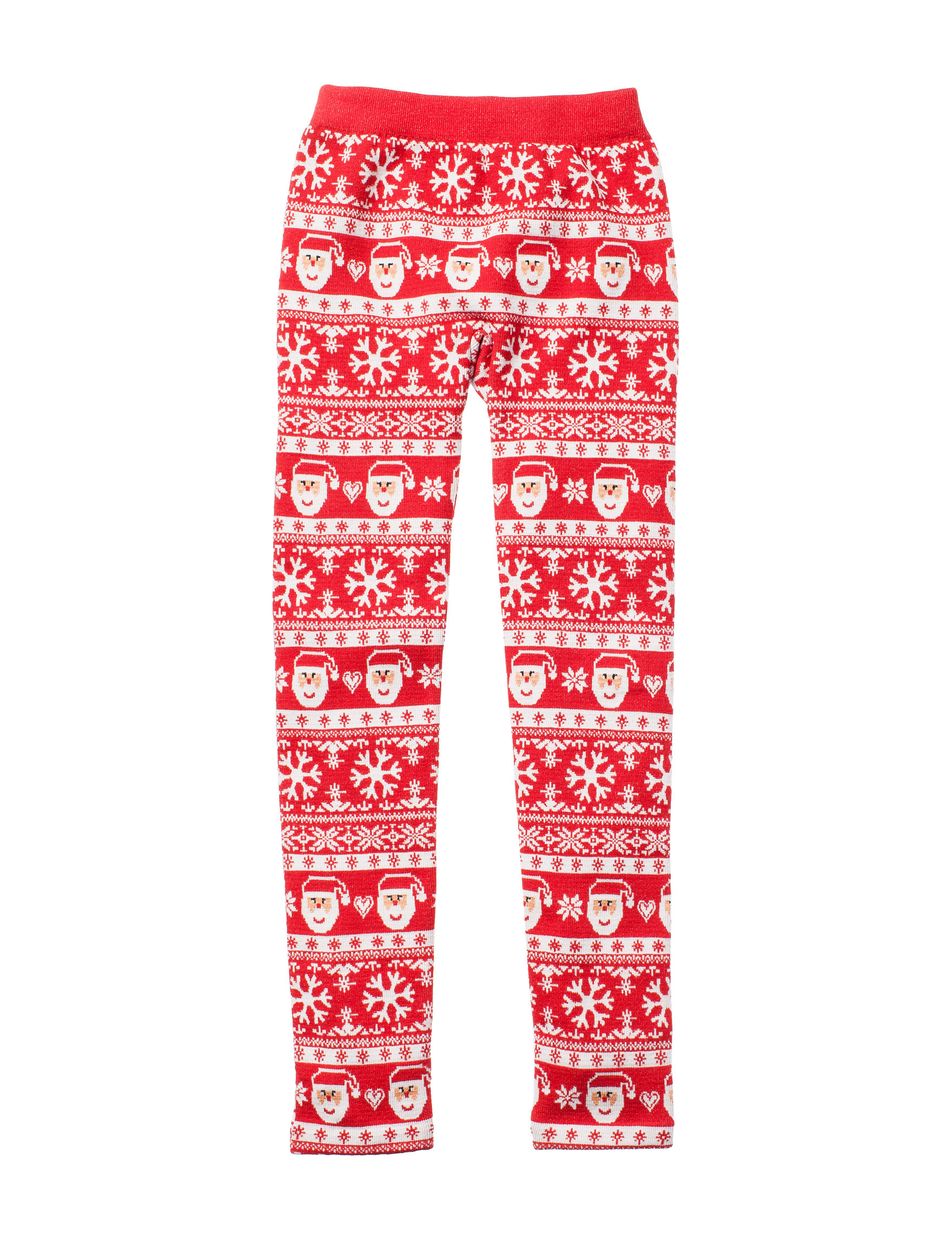 Wishful Park Red / White Leggings