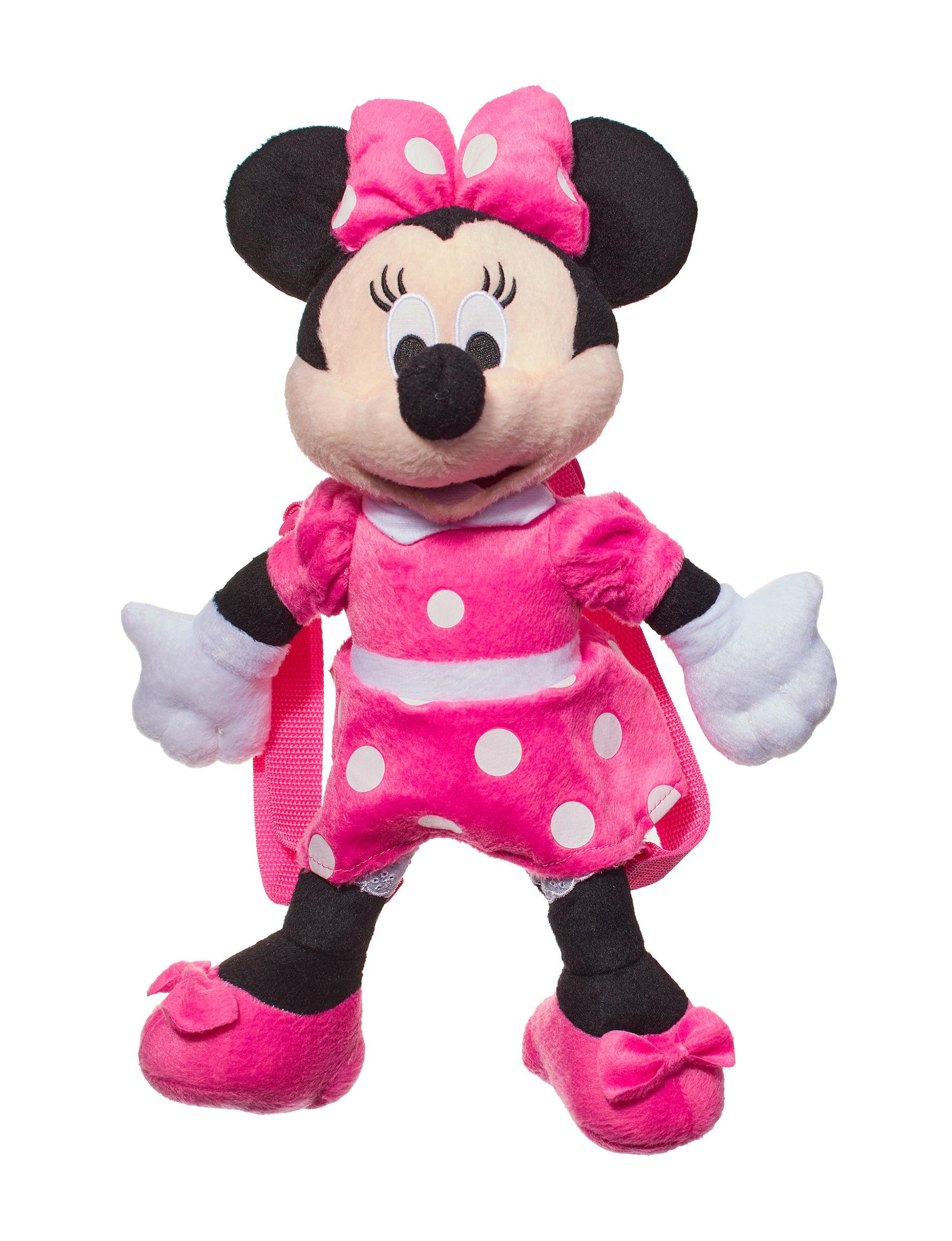 Disney Pink / White / Black Bookbags & Backpacks