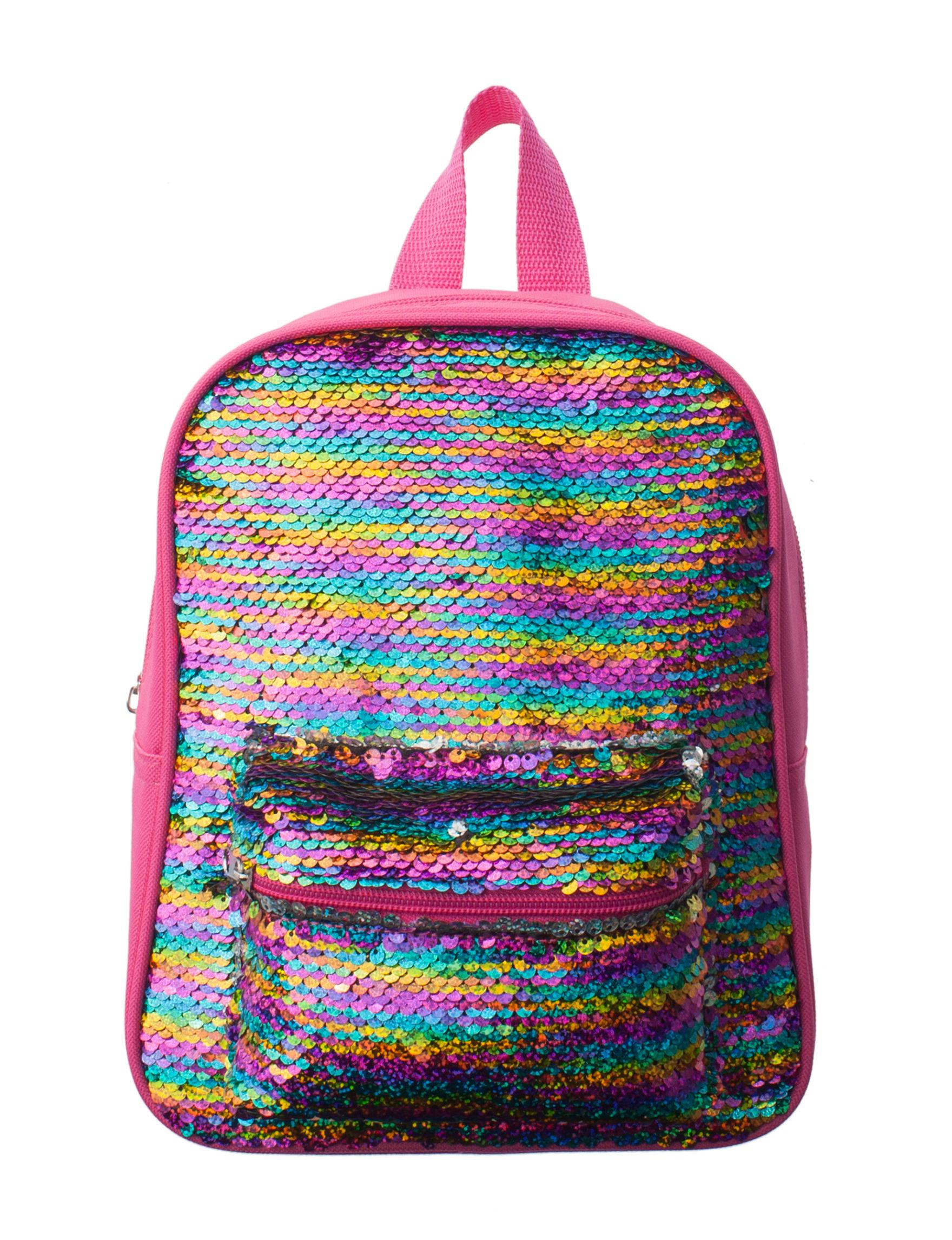 Confetti Pink Multi Bookbags & Backpacks