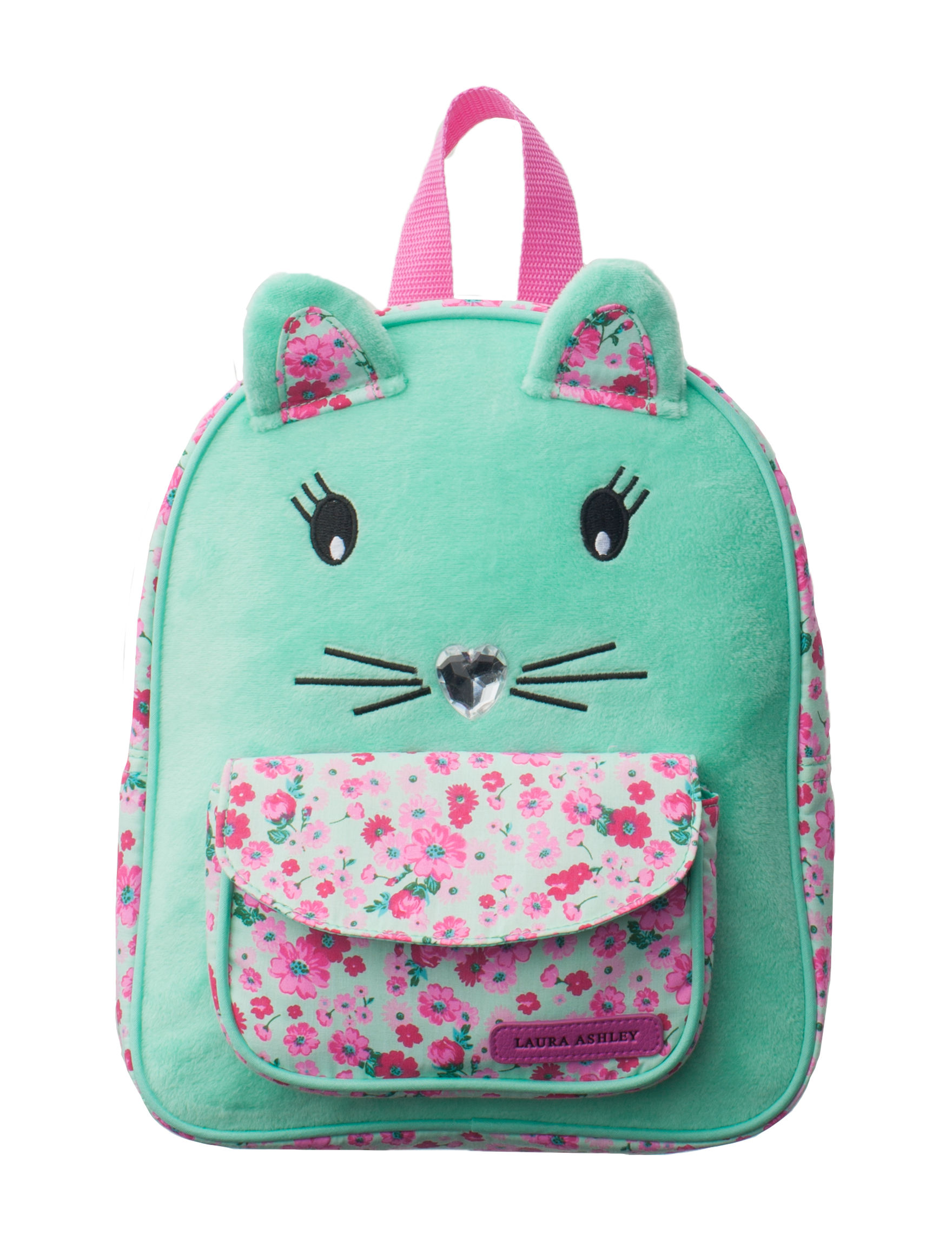 Laura Ashley Mint Green Lunch Boxes & Bags Bookbags & Backpacks