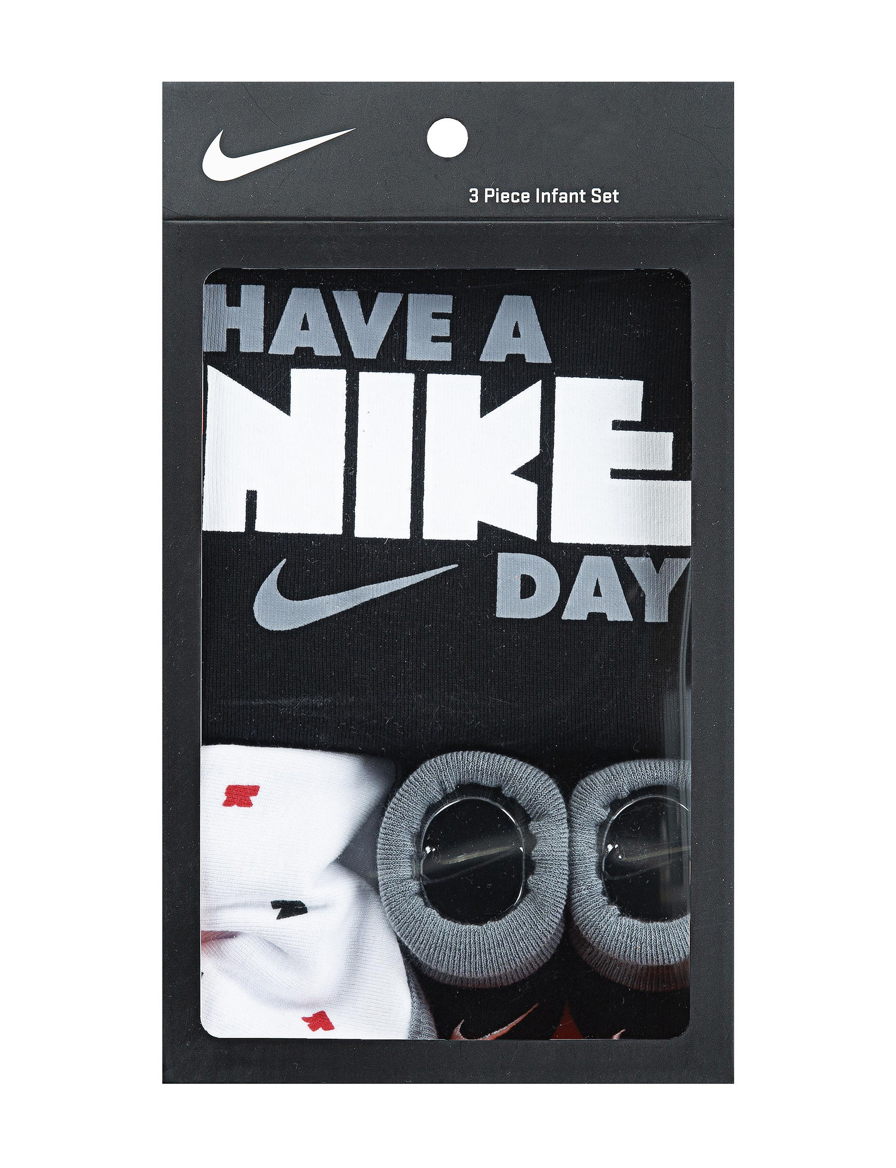 3acb23a7e3ba7 Nike 3-pc. Have A Nike Day Logo Boxed Set - Baby 6-12 Mos.