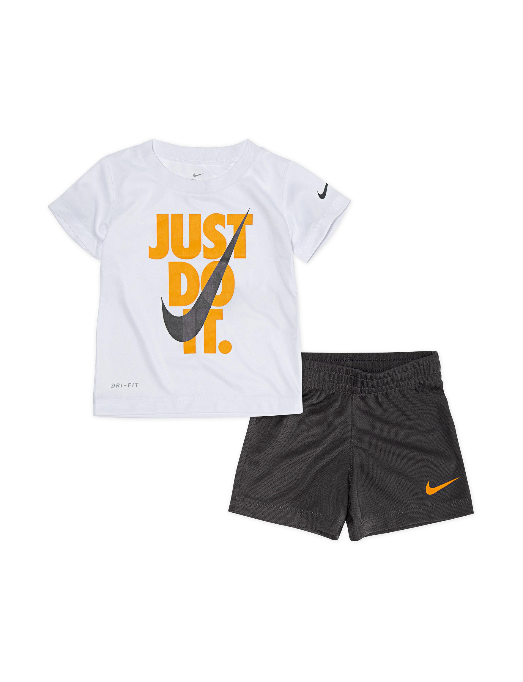 Nike Orange / Grey