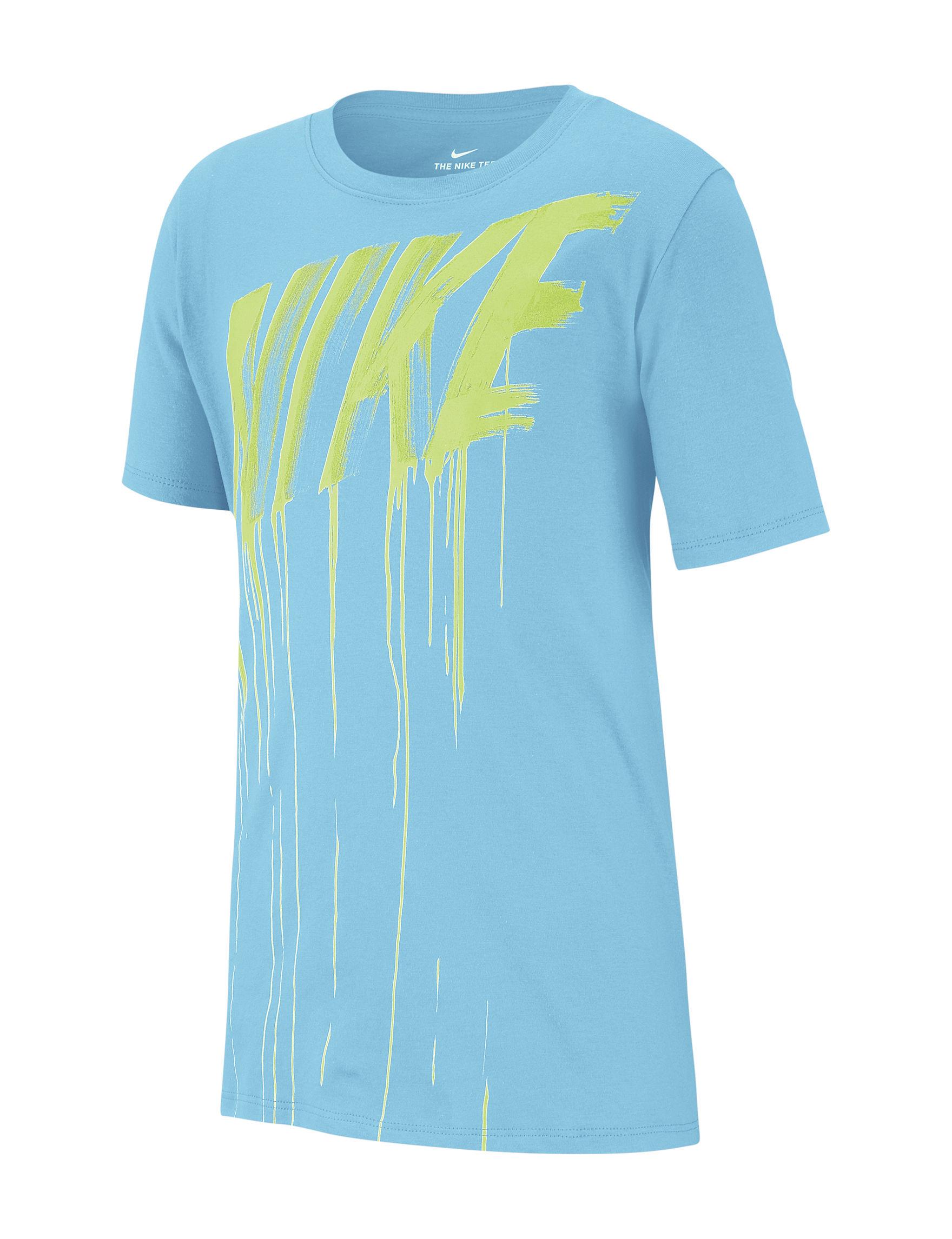 Nike Light Blue Tees & Tanks