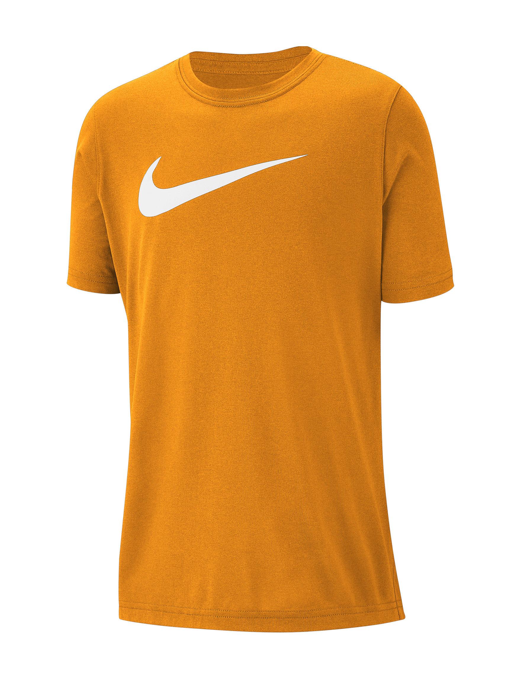 Nike Orange Tees & Tanks