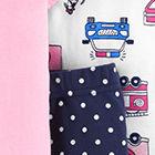 Pink / Navy