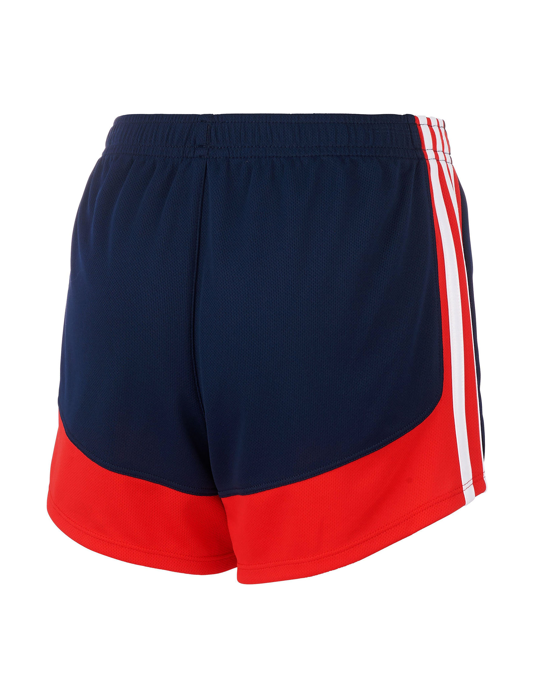 68b5fc66b adidas 3-Stripe Mesh Paneled Running Shorts - Girls 7-16 | Stage Stores