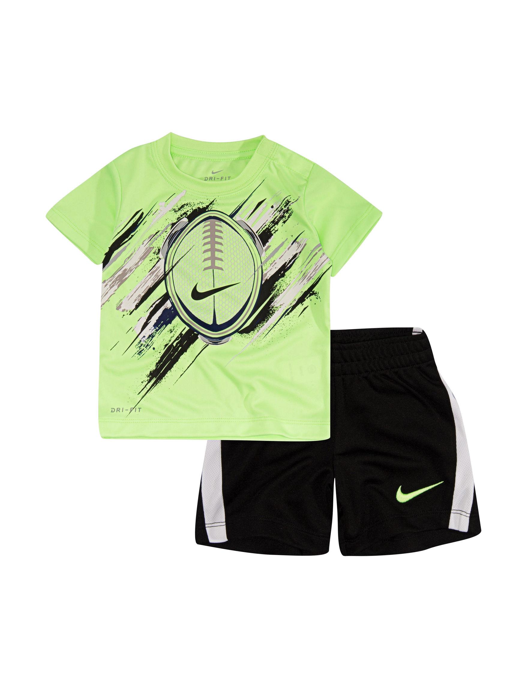 Nike Black / Green