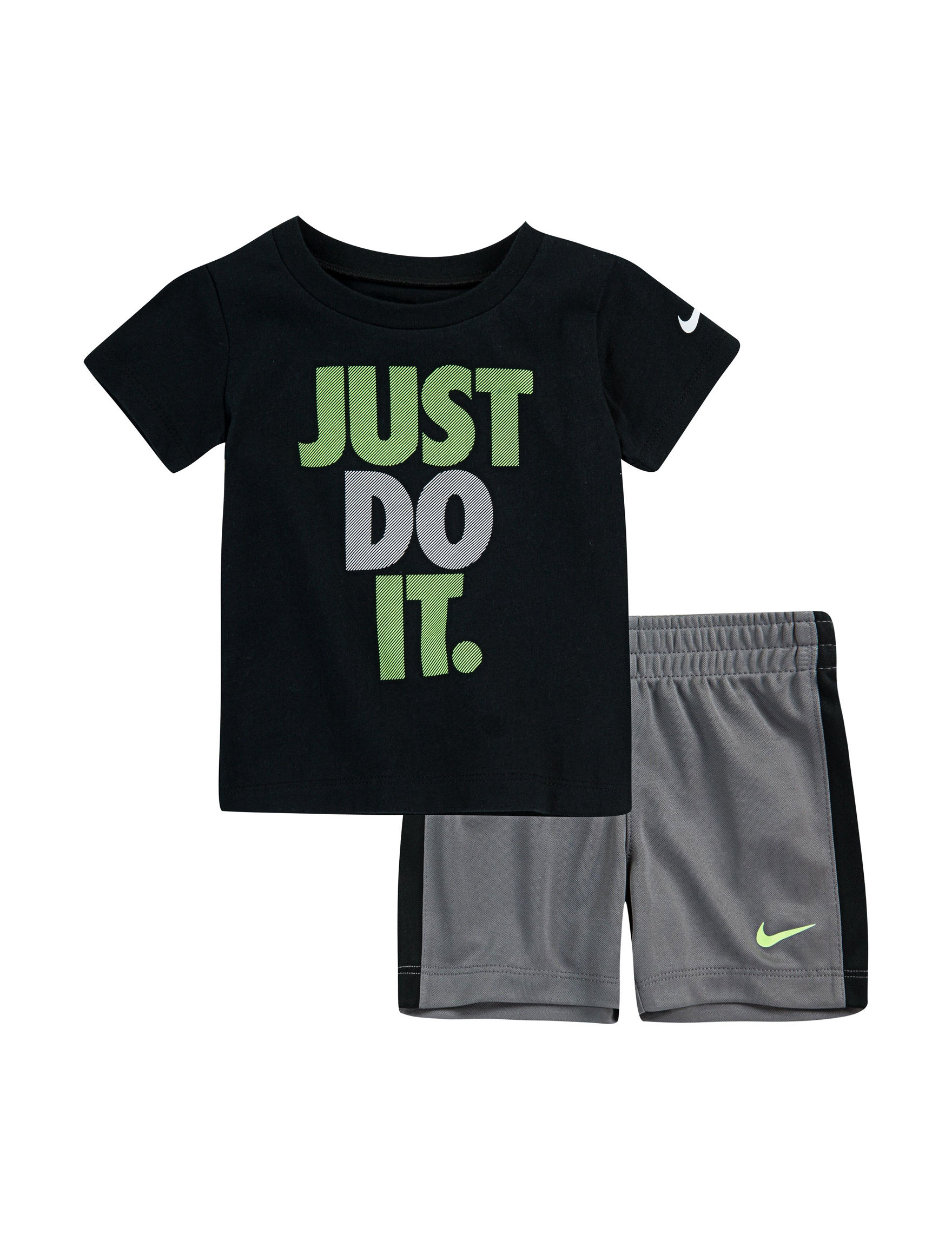 Nike Black / Grey / Green