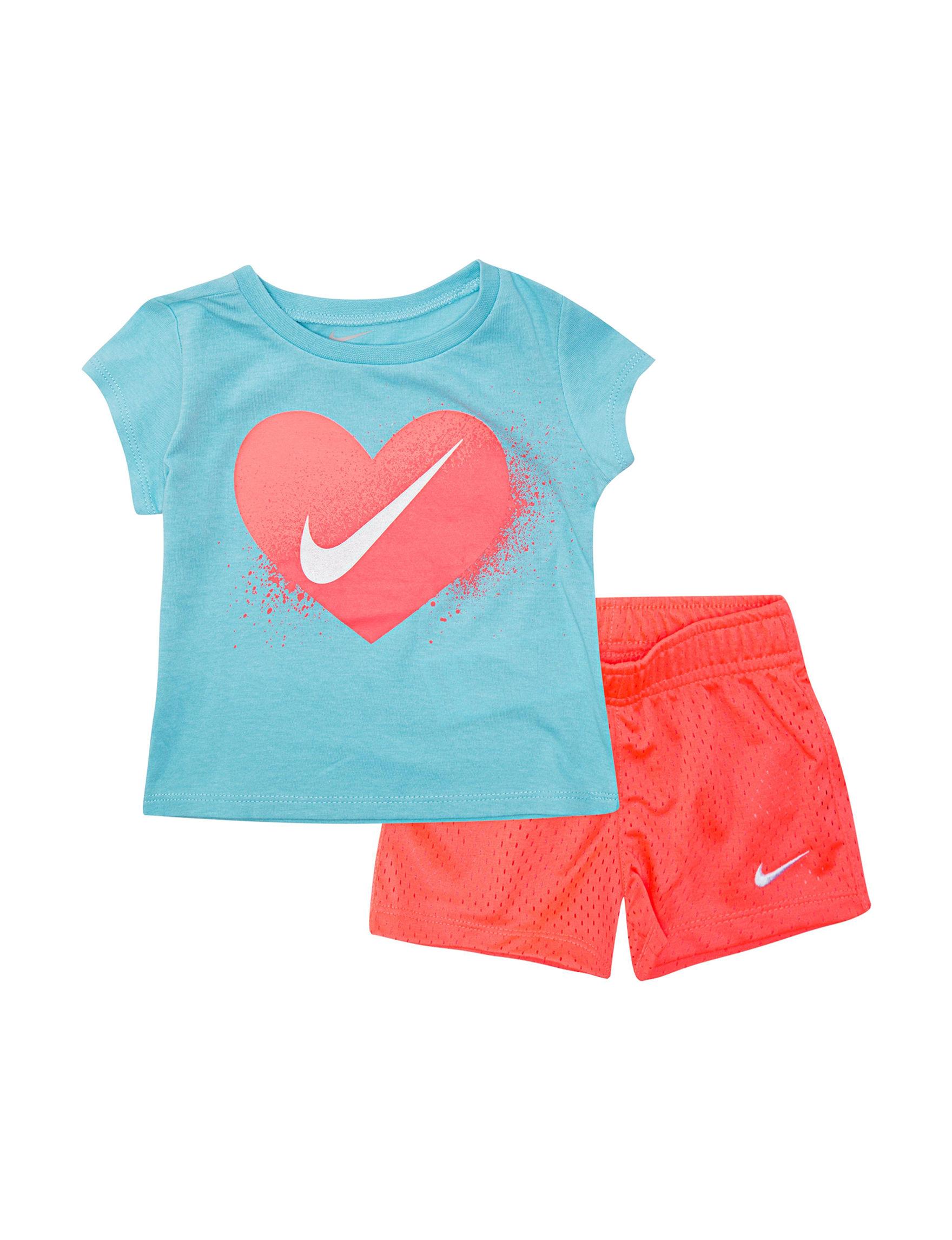 Nike Blue / Coral