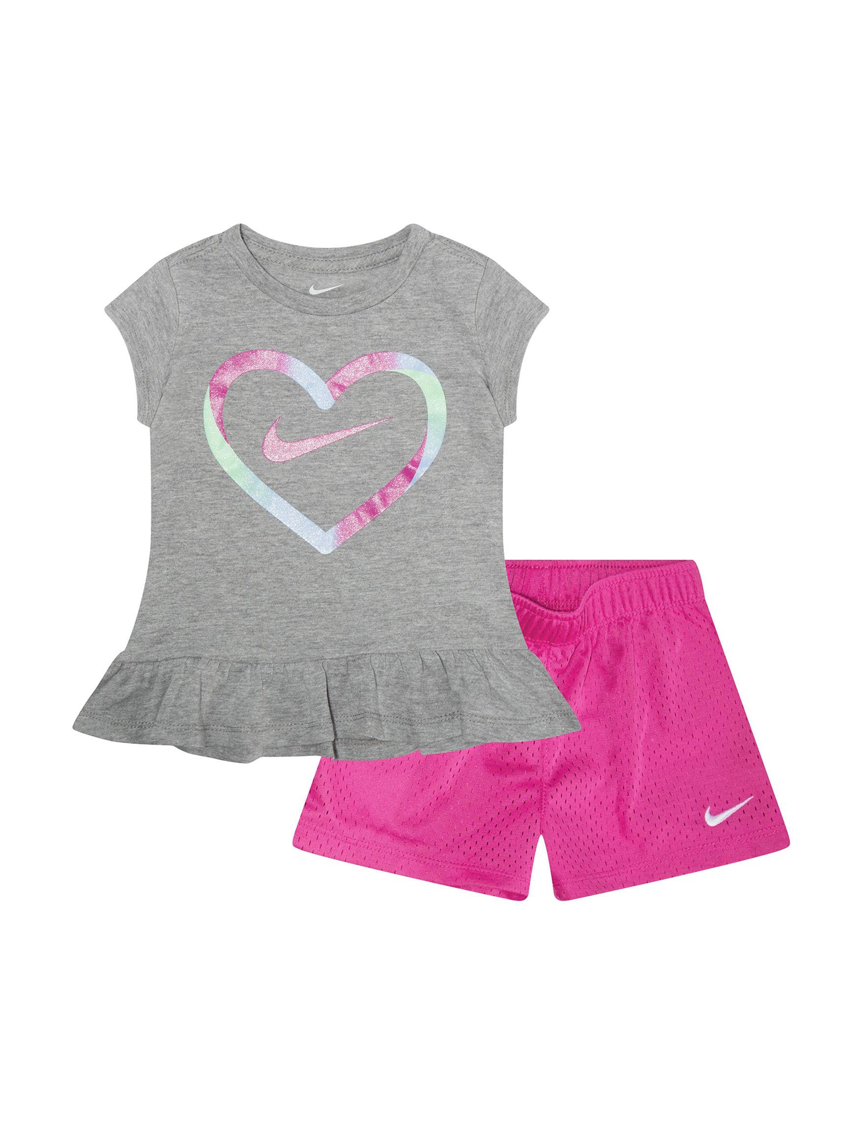 Nike Grey / Purple