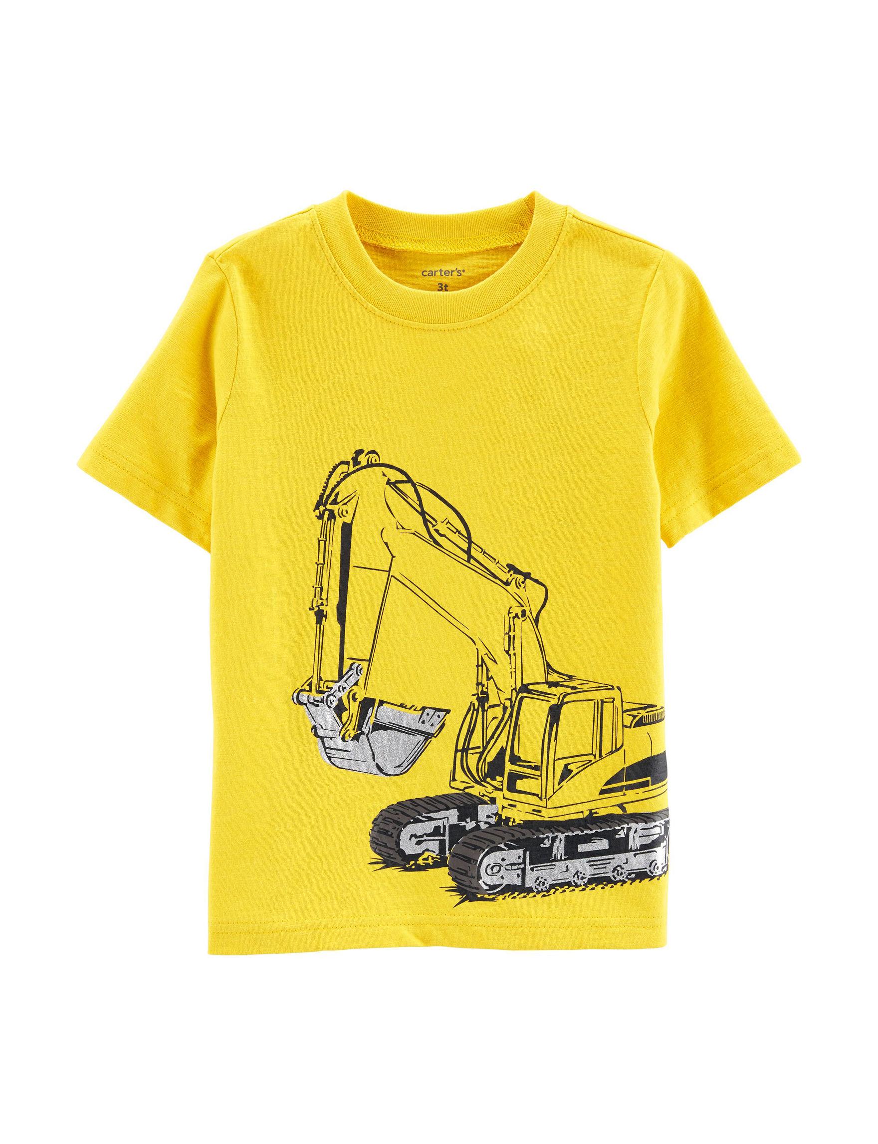 Carter's Yellow Tees & Tanks