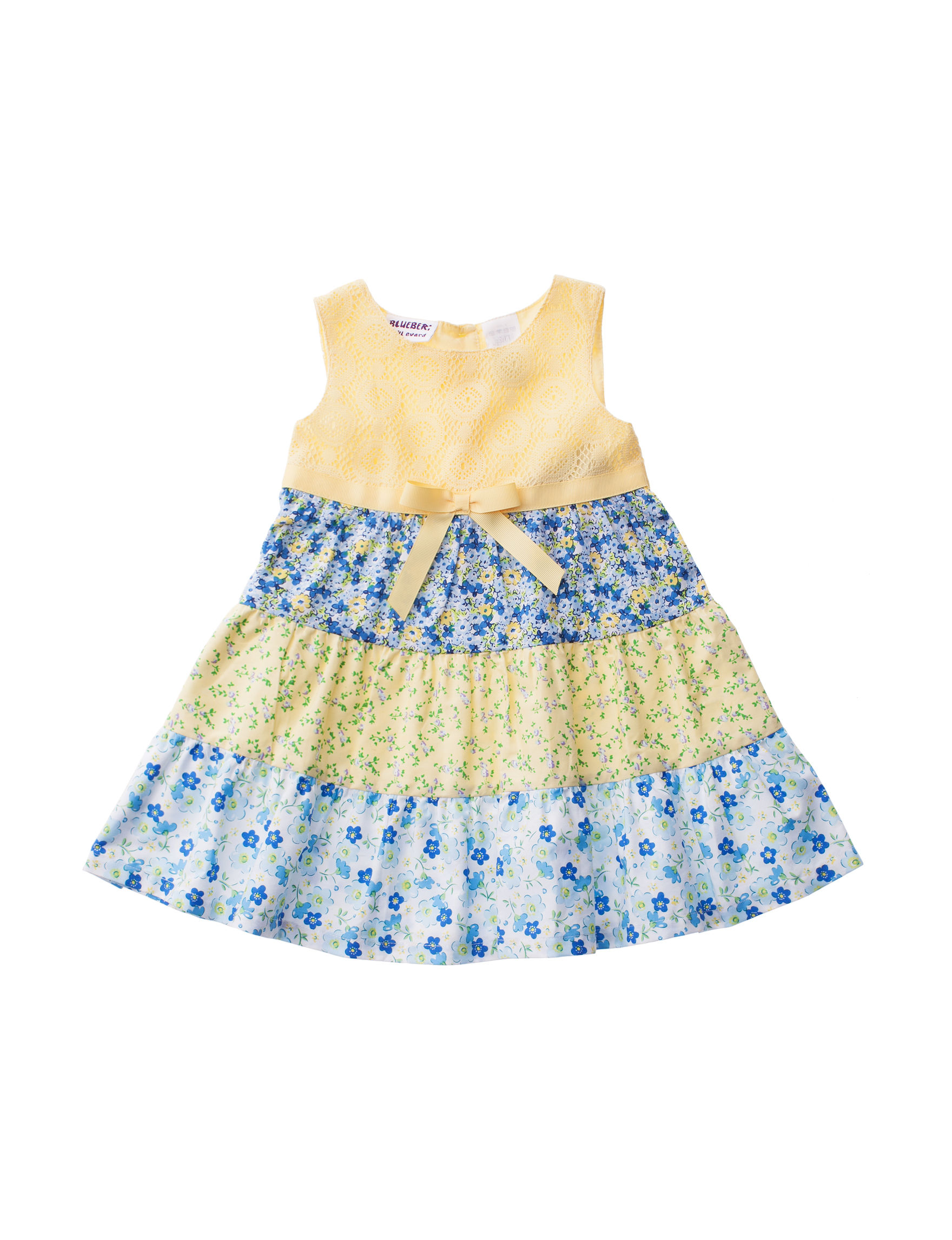 Blueberi Boulevard Yellow Floral