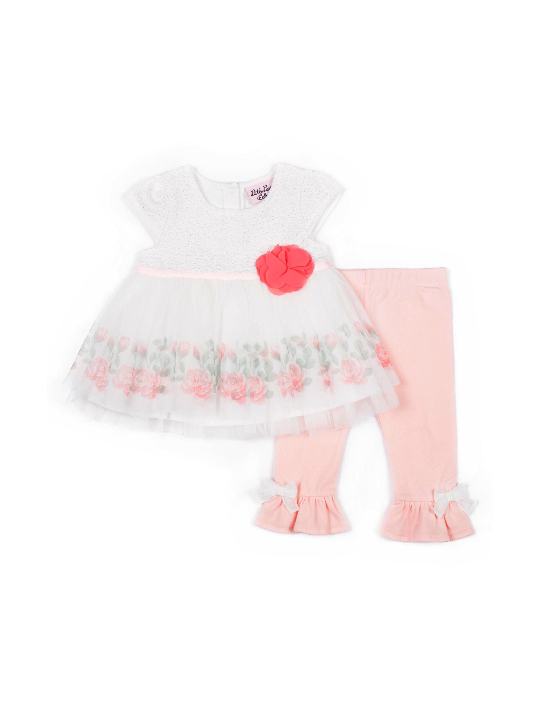 Little Lass Ivory / Pink