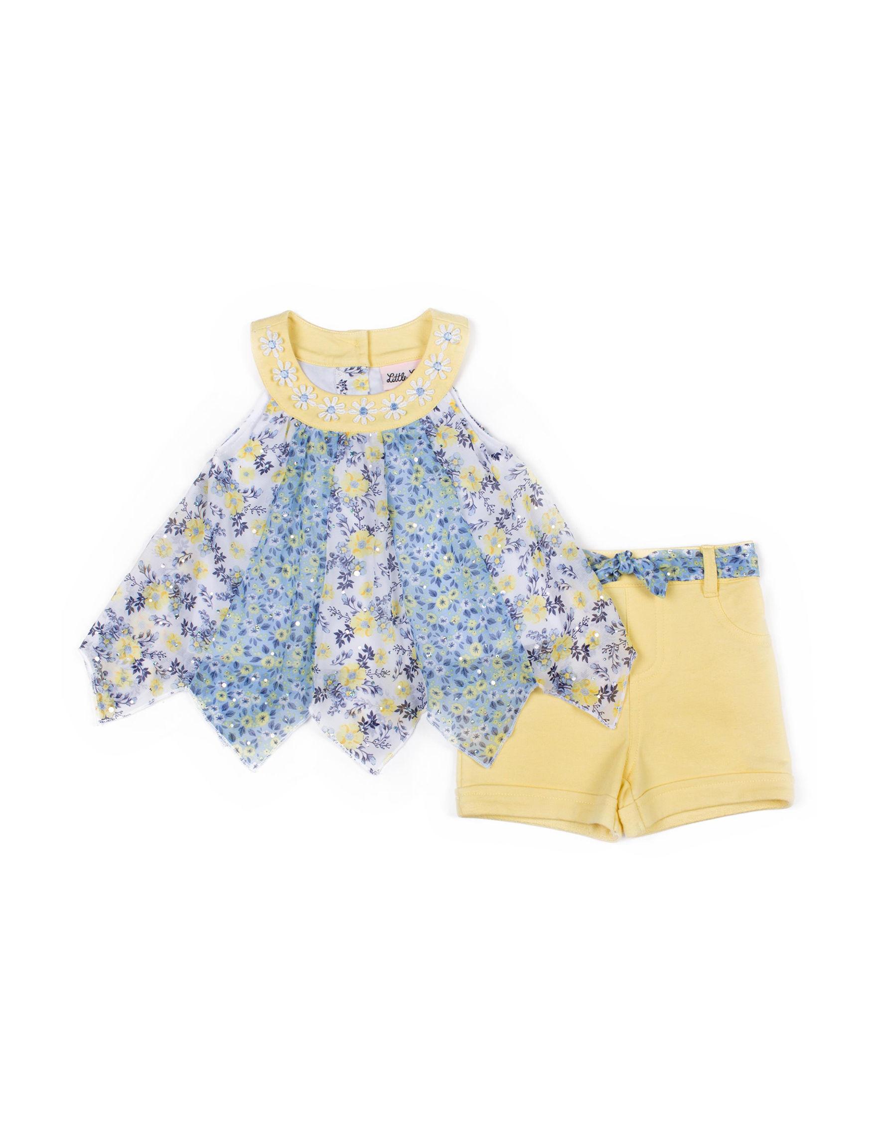 Little Lass Yellow / Blue