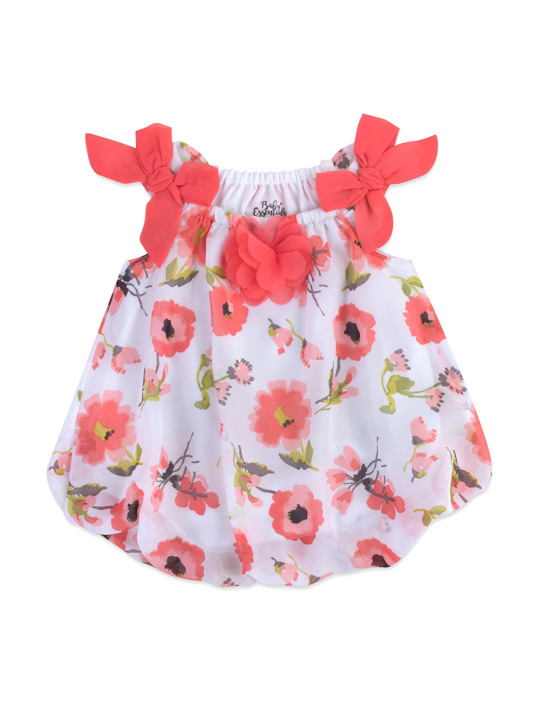 Baby Essentials Coral Floral