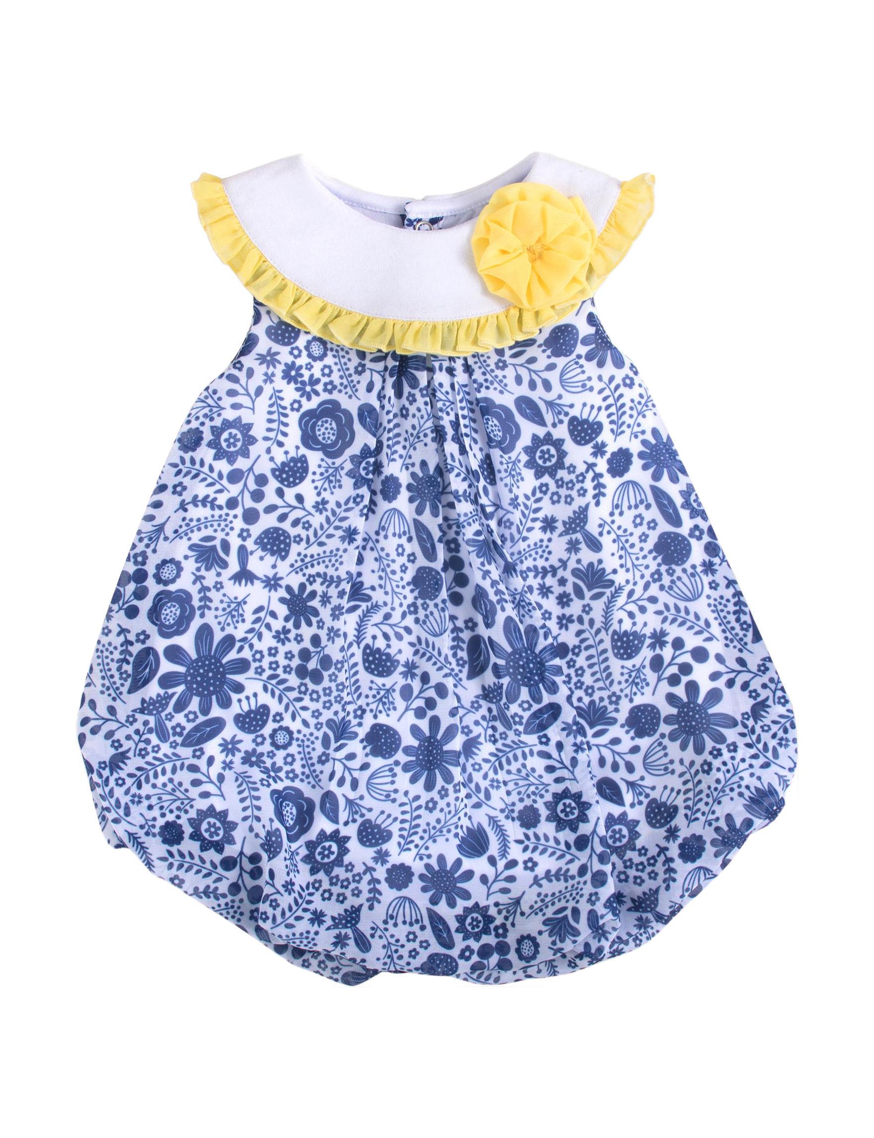 Baby Essentials Blue / White / Yellow