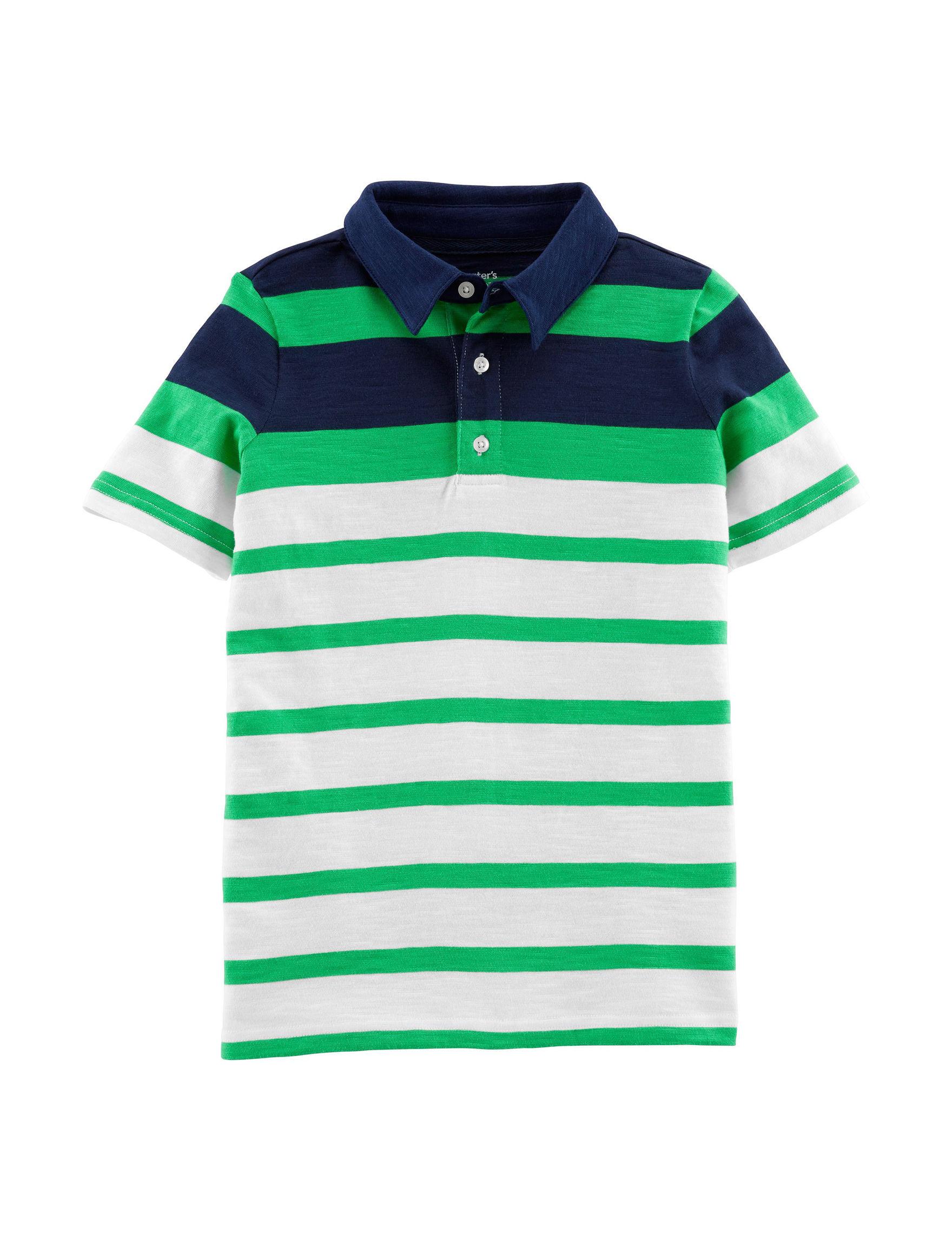 Carter's Green Stripe