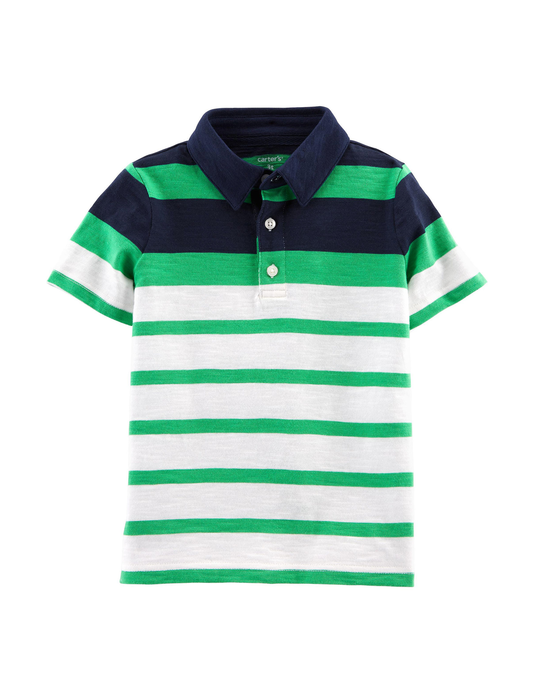 Carter's Green Stripe