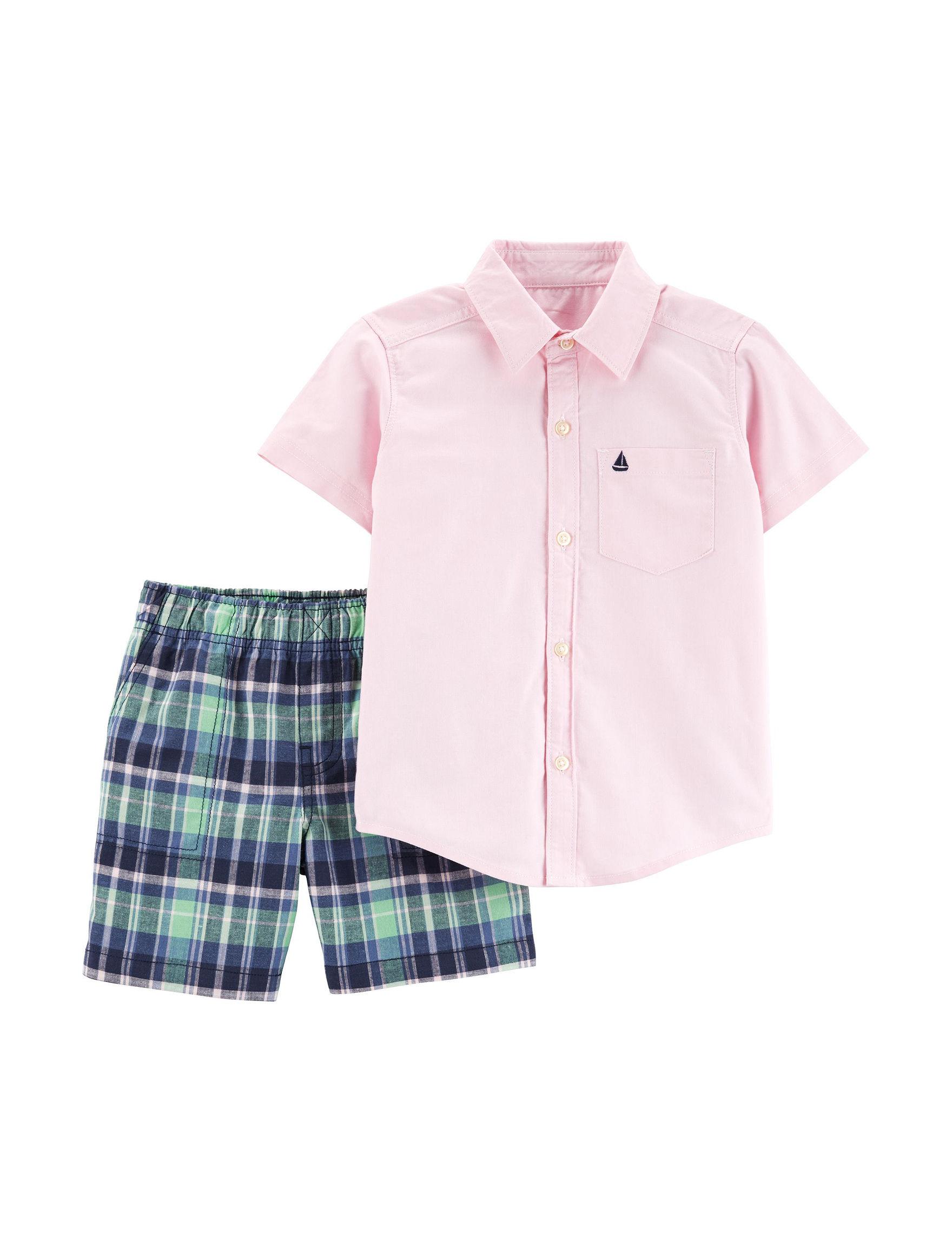424bcdc98 Carter s 2-pc. Woven Shirt   Shorts Set - Toddler Boys