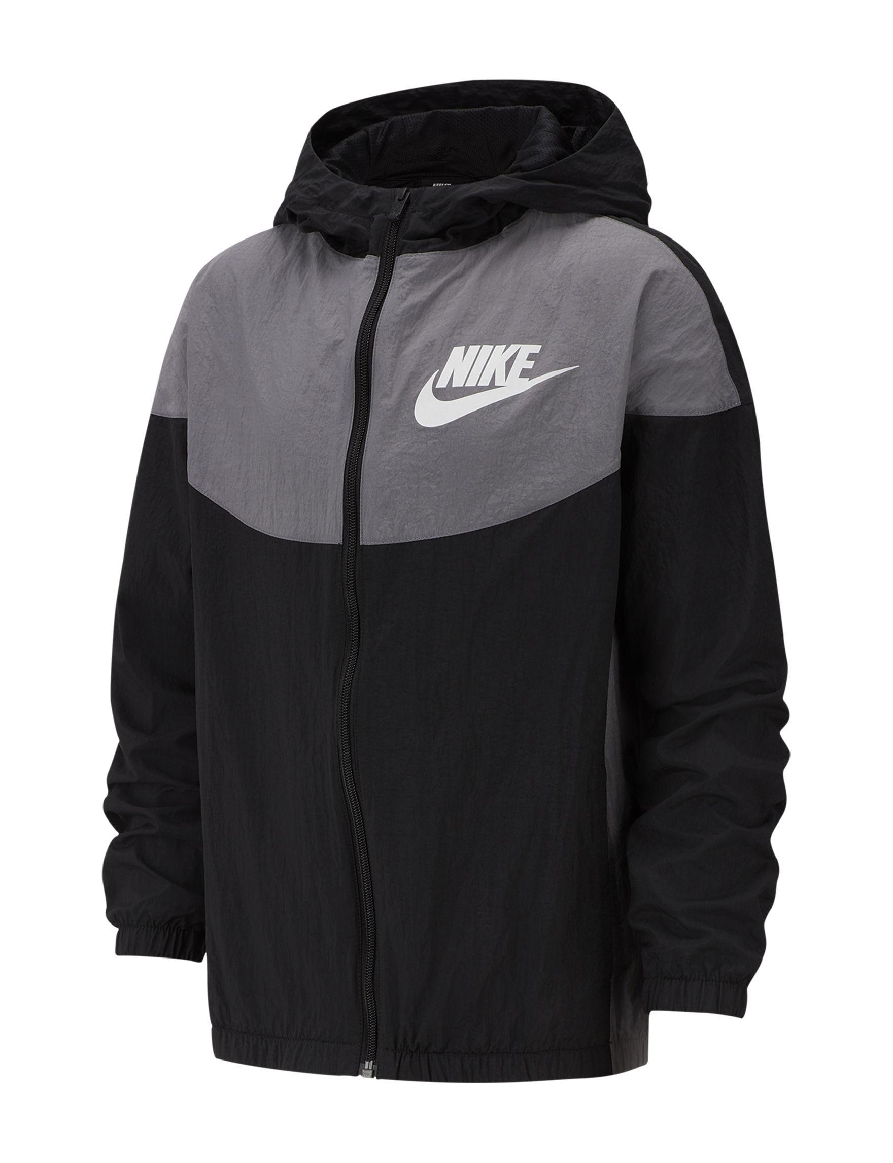 Nike Black / Grey Fleece & Soft Shell Jackets