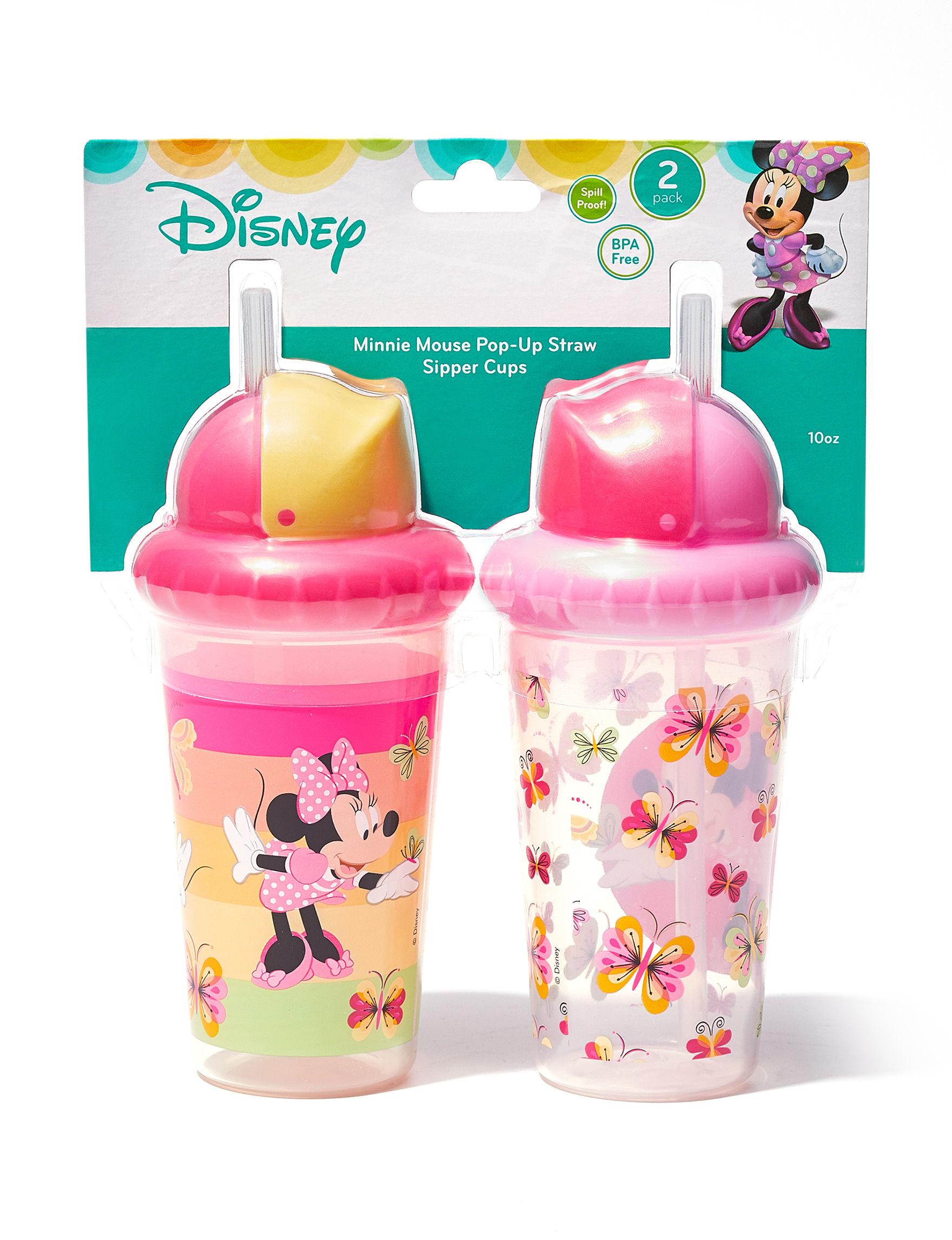 Disney Pink Bottle Feeding