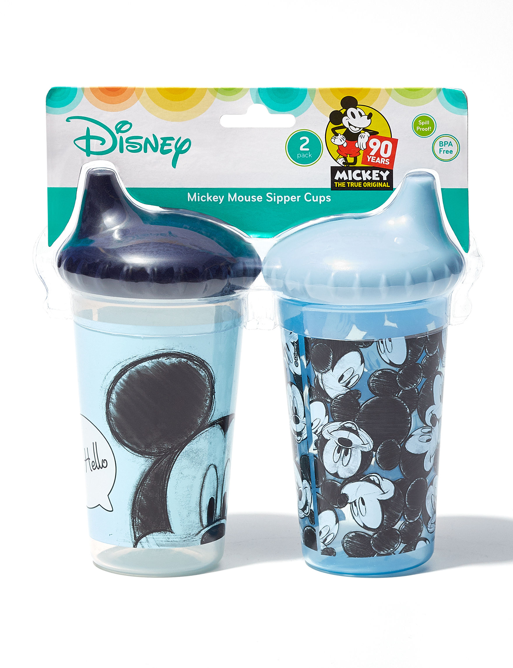 Disney Blue Bottle Feeding