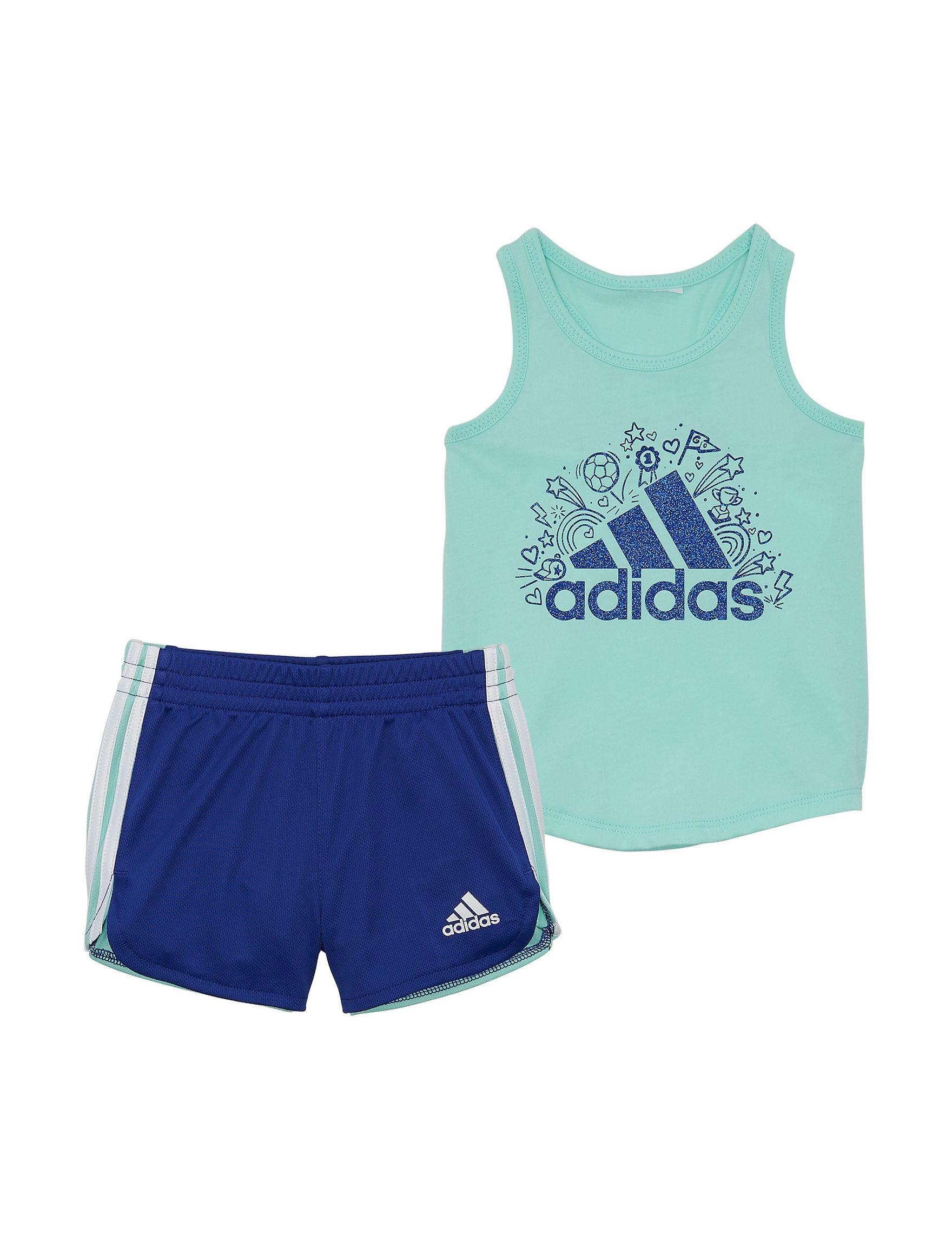 Adidas Mint / Navy