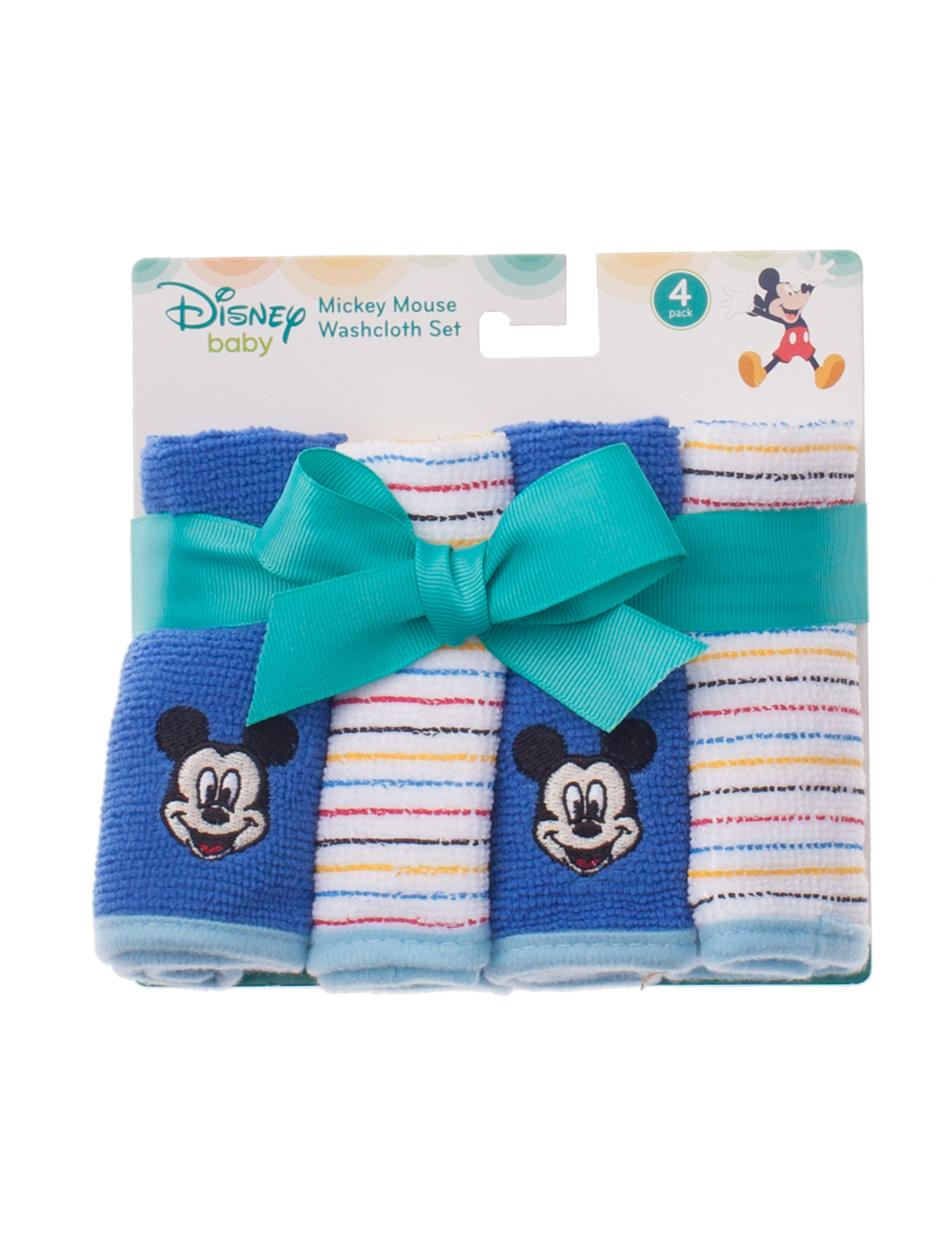Disney Blue Multi Washcloths