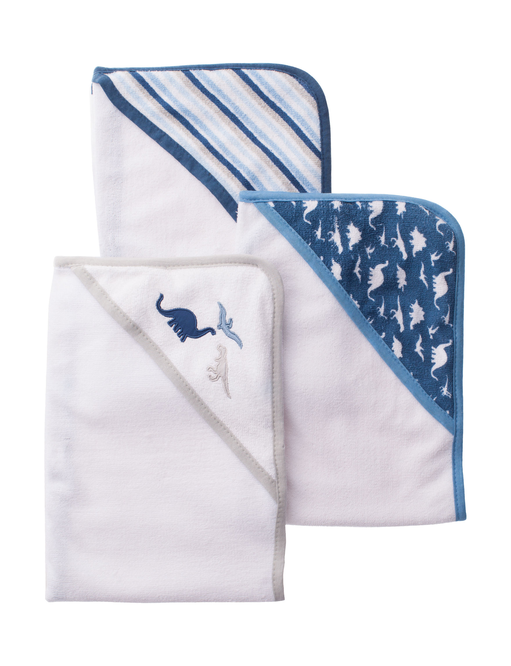 Little Beginnings White Hooded Towels