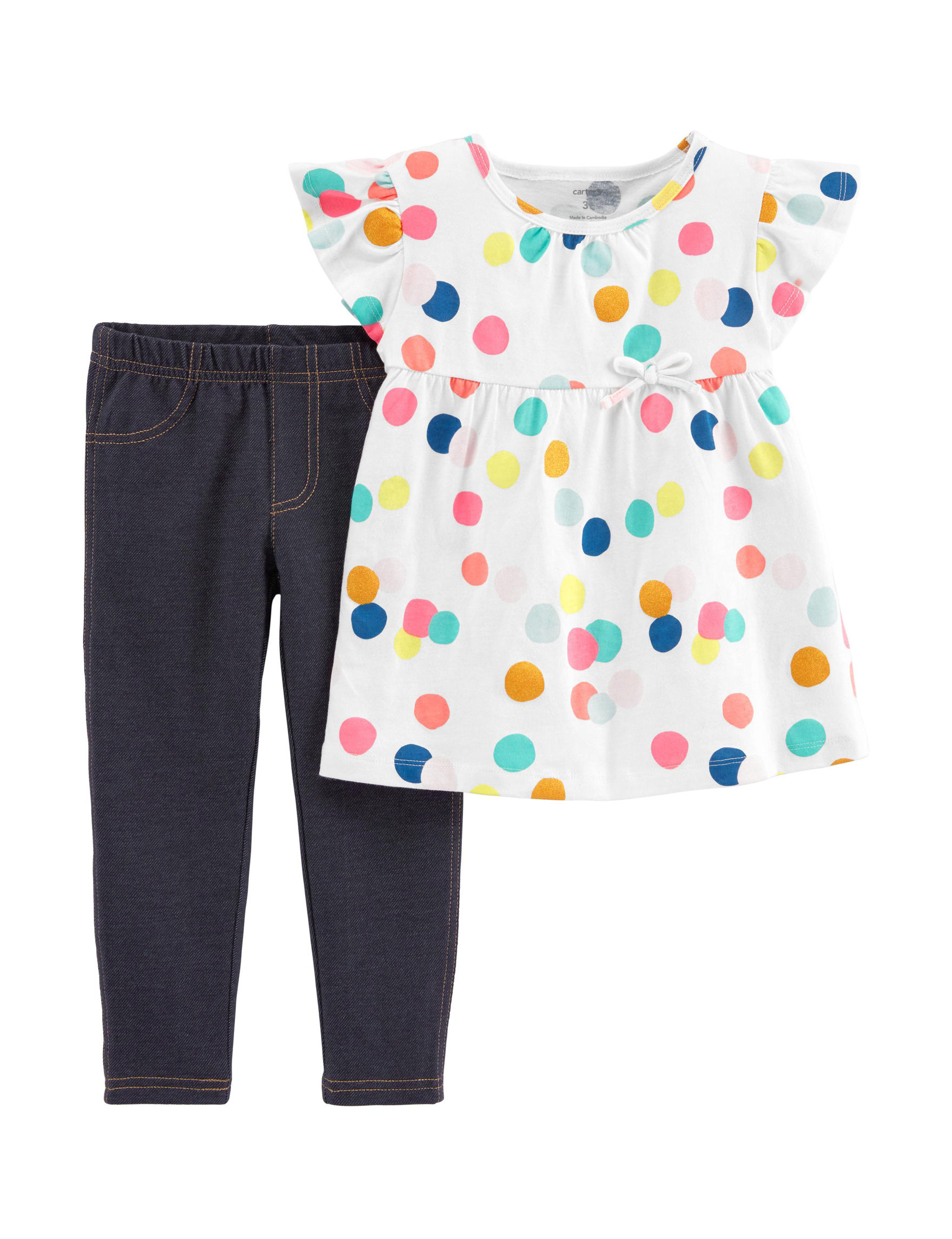 Carter's White / Dots