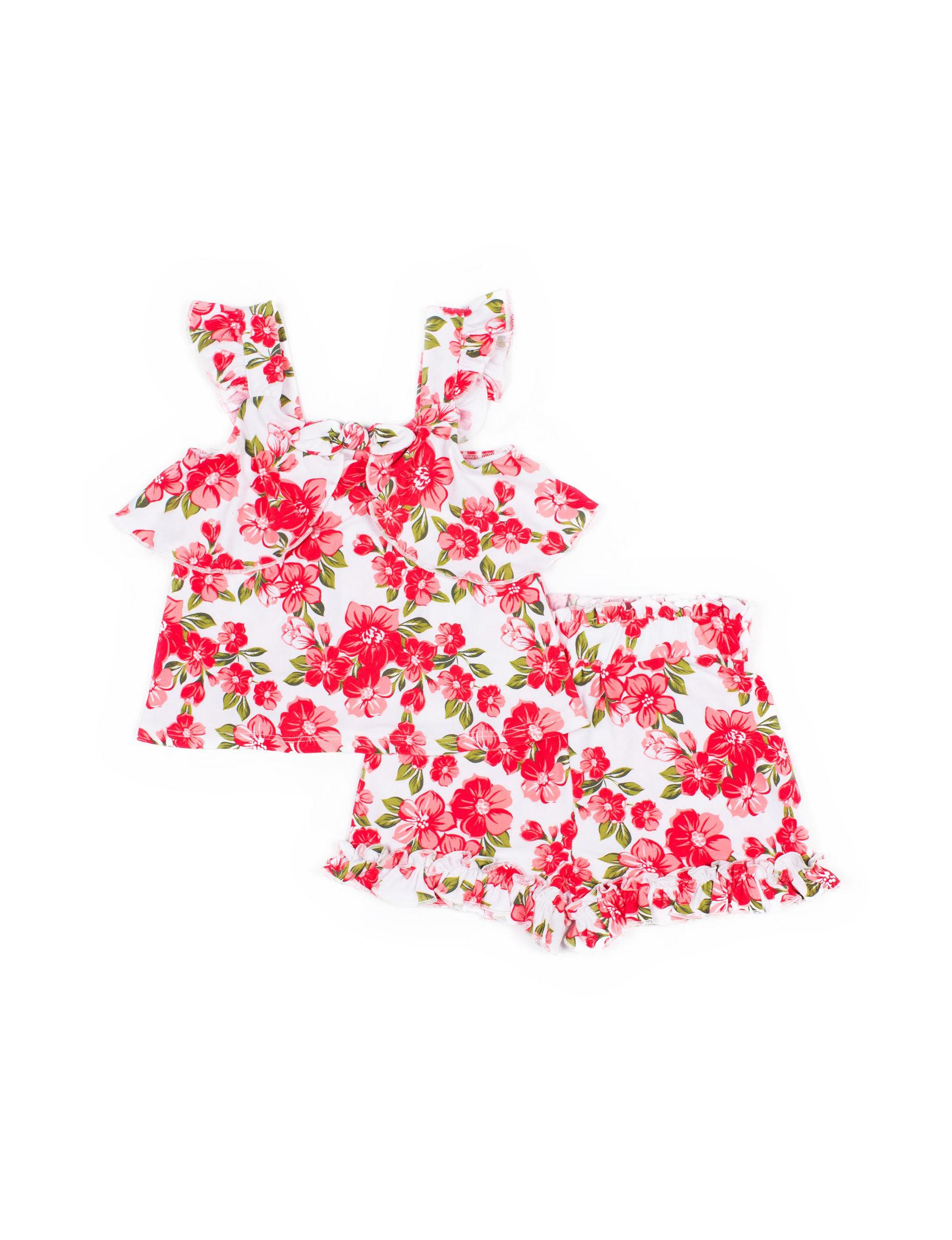 Little Lass Coral Floral