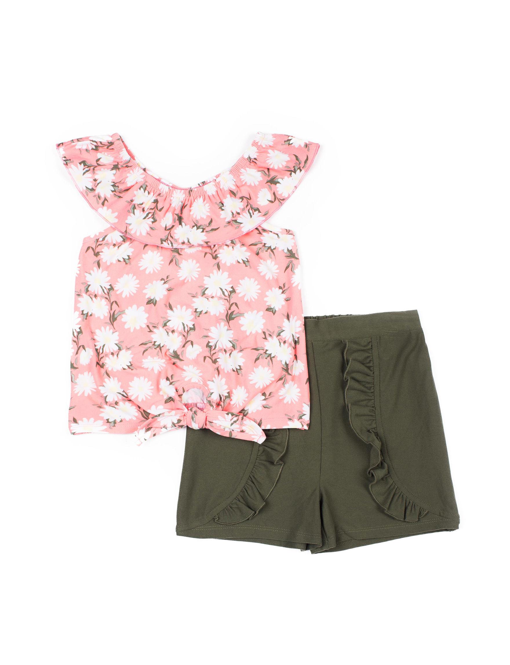 Little Lass Pink / Green