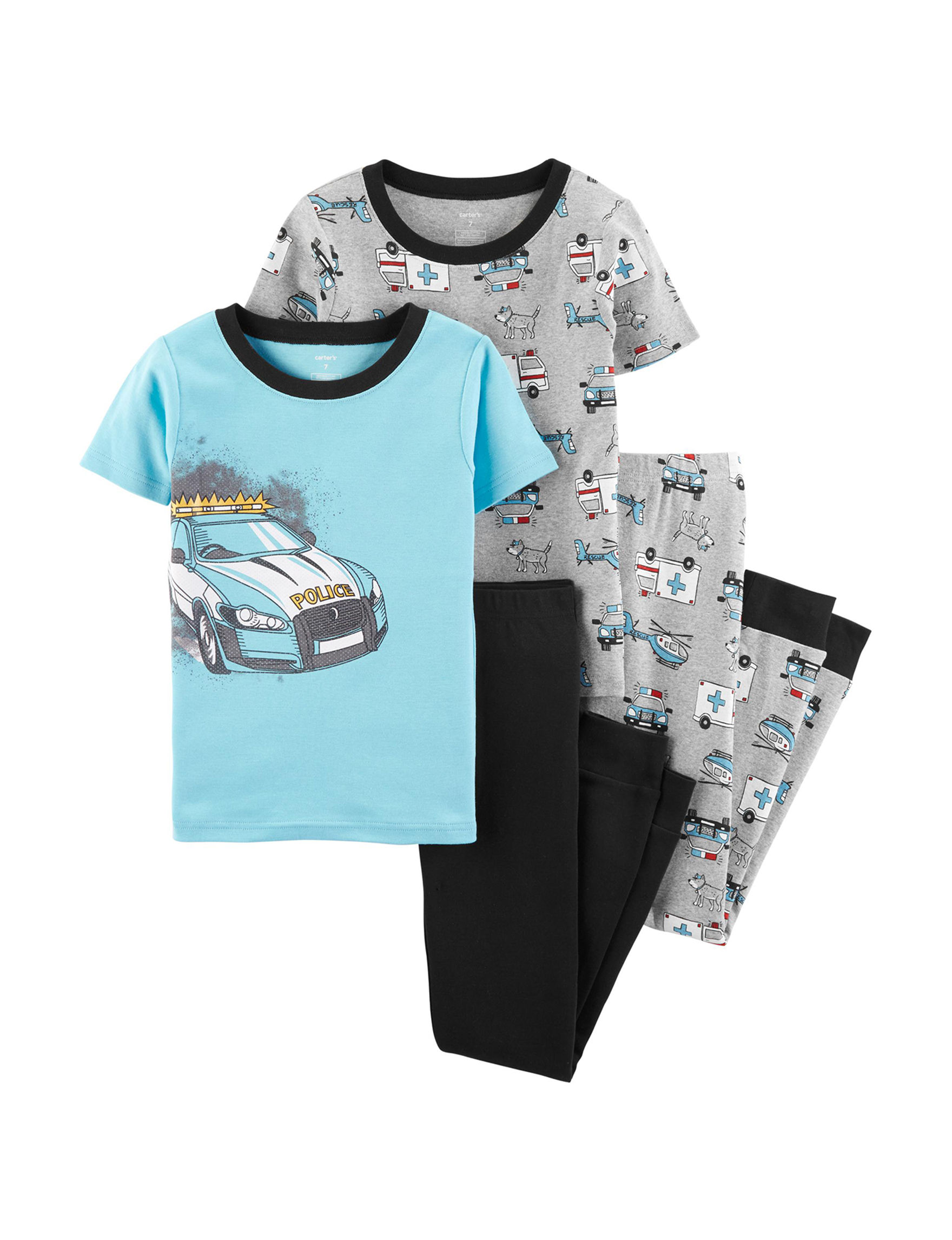 Carter's Blue / Grey Pajama Sets