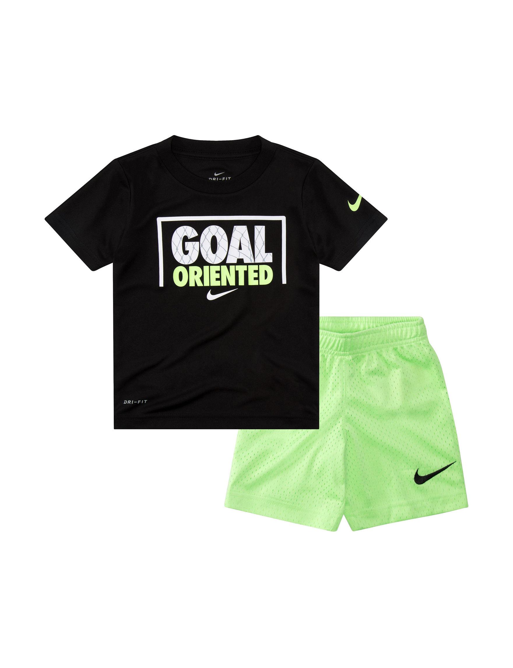 b642b7c9ca Nike 2-pc. Dri-FIT Goal Oriented T-shirt & Shorts Set - Toddler Boys ...