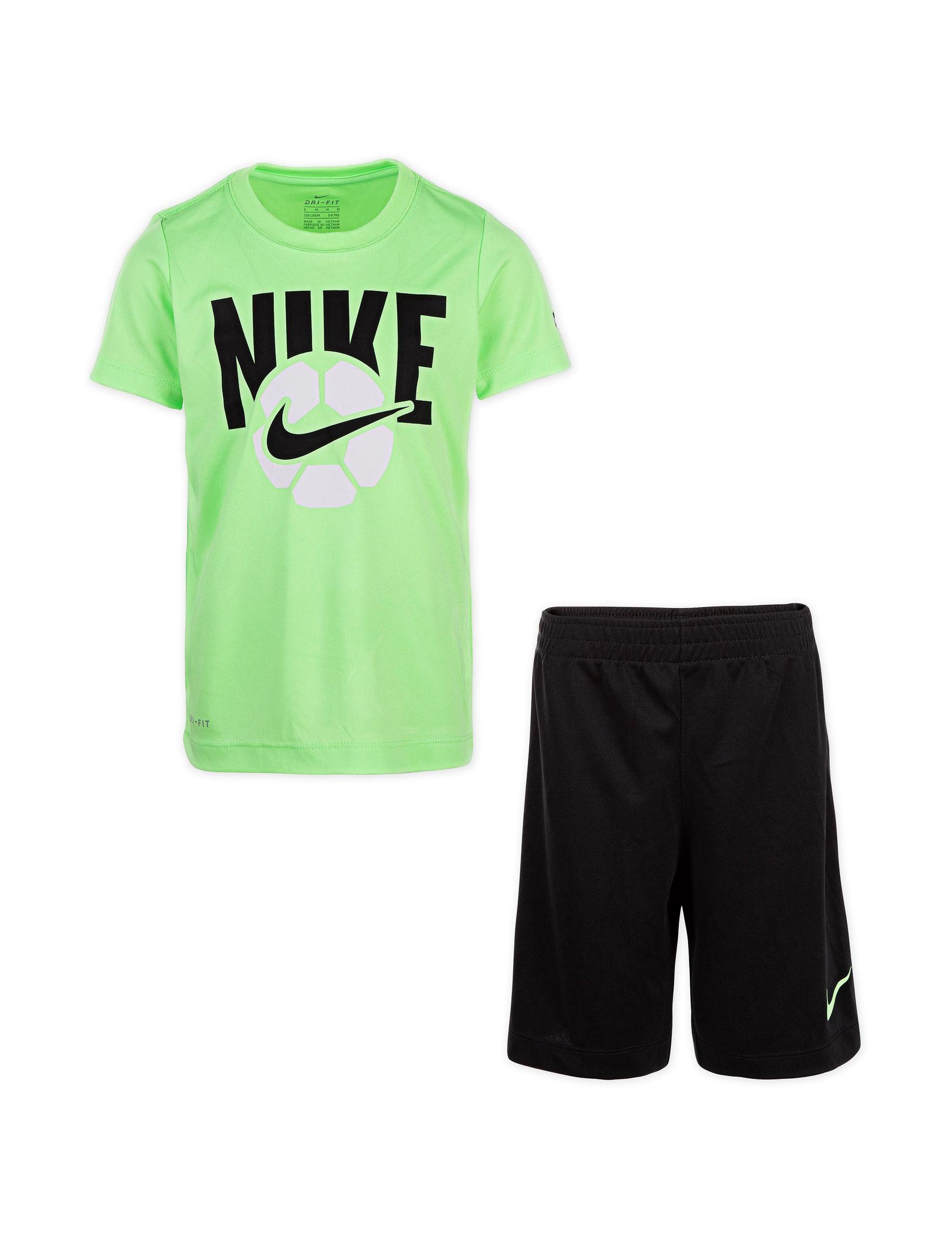 aecc3ea21 Nike 2-pc. Dri-FIT Soccer Ball Graphic T-shirt & Shorts Set - Toddler Boys