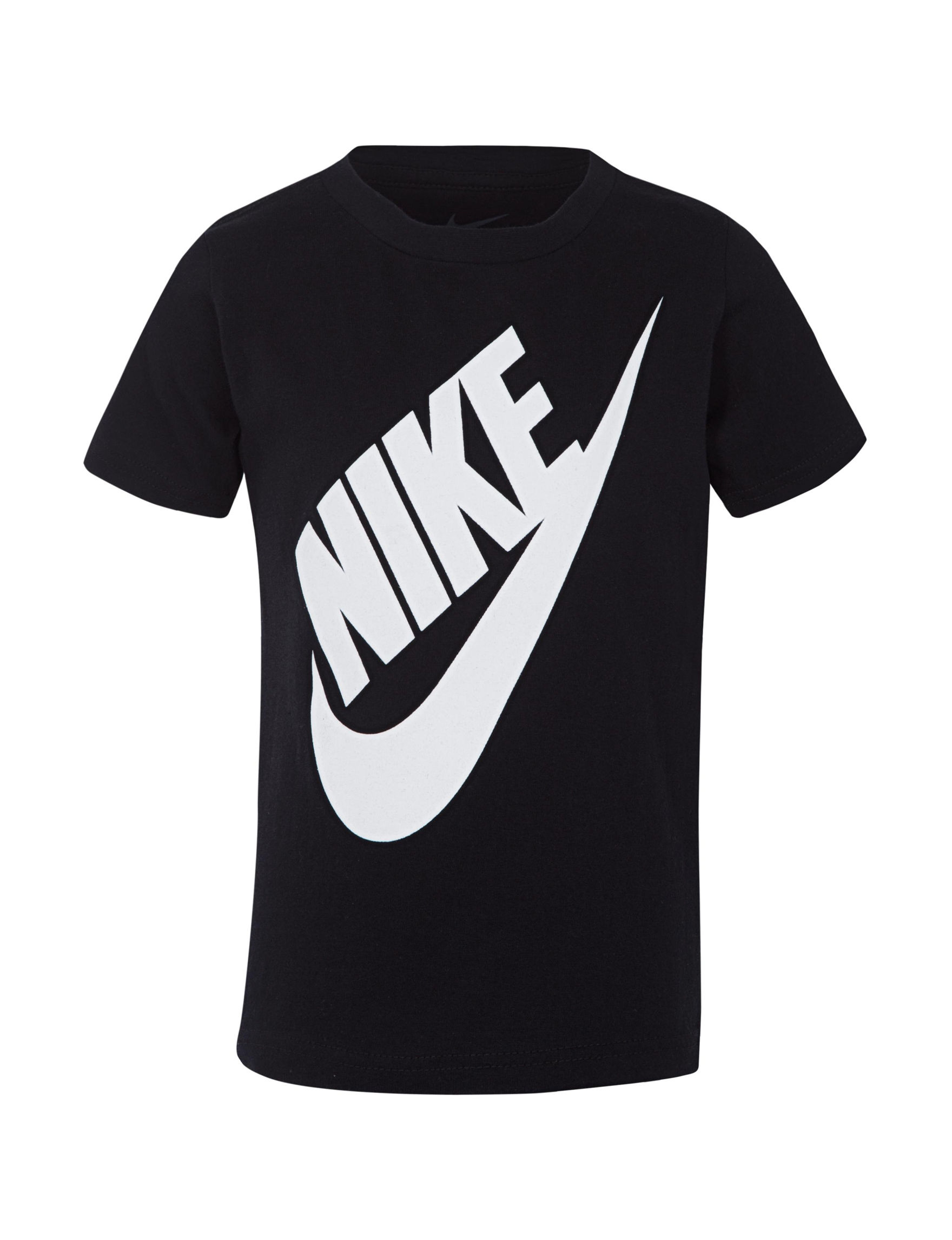Nike Black / White Tees & Tanks